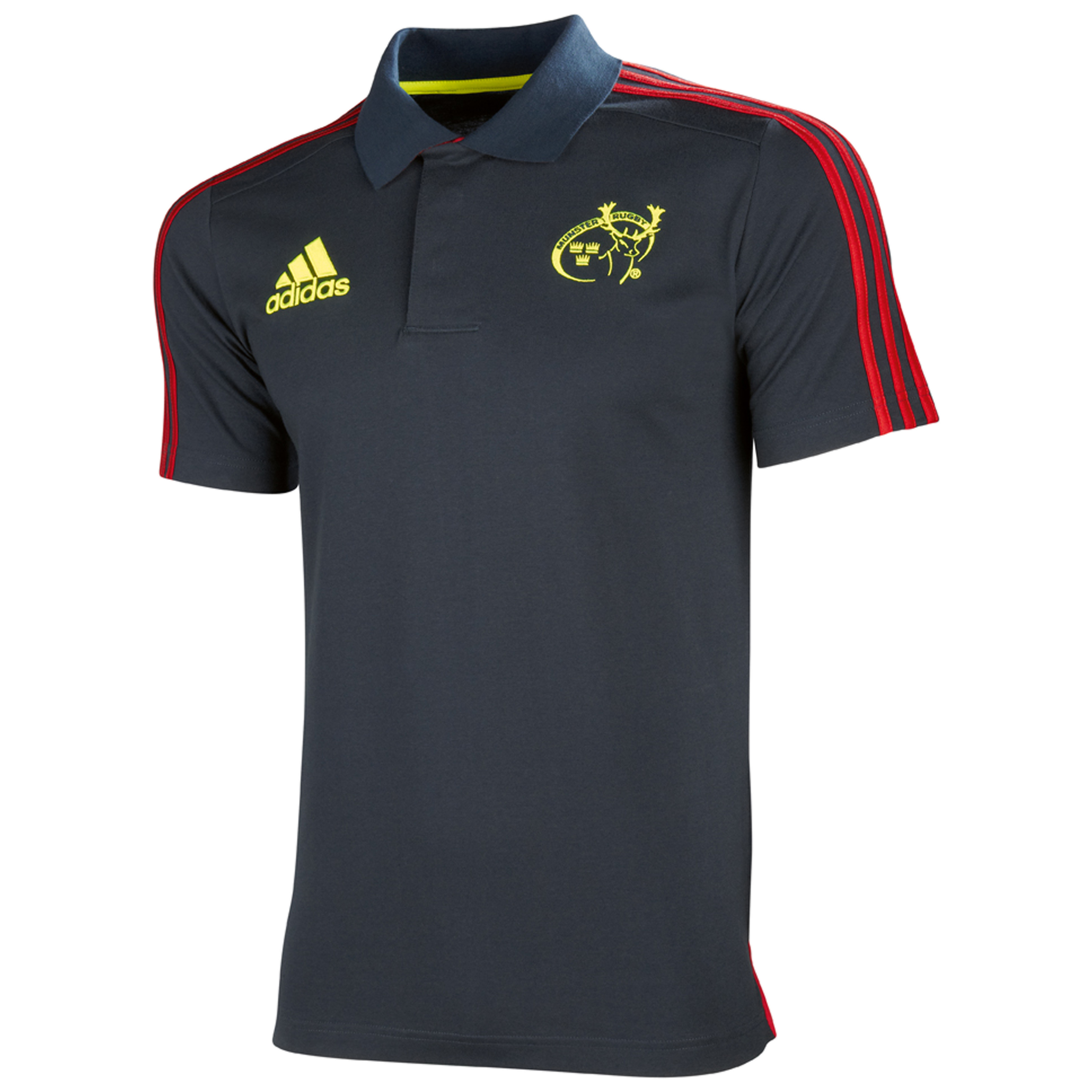 Munster Training Polo - Tech Onix/Collegiate Red/Electricity