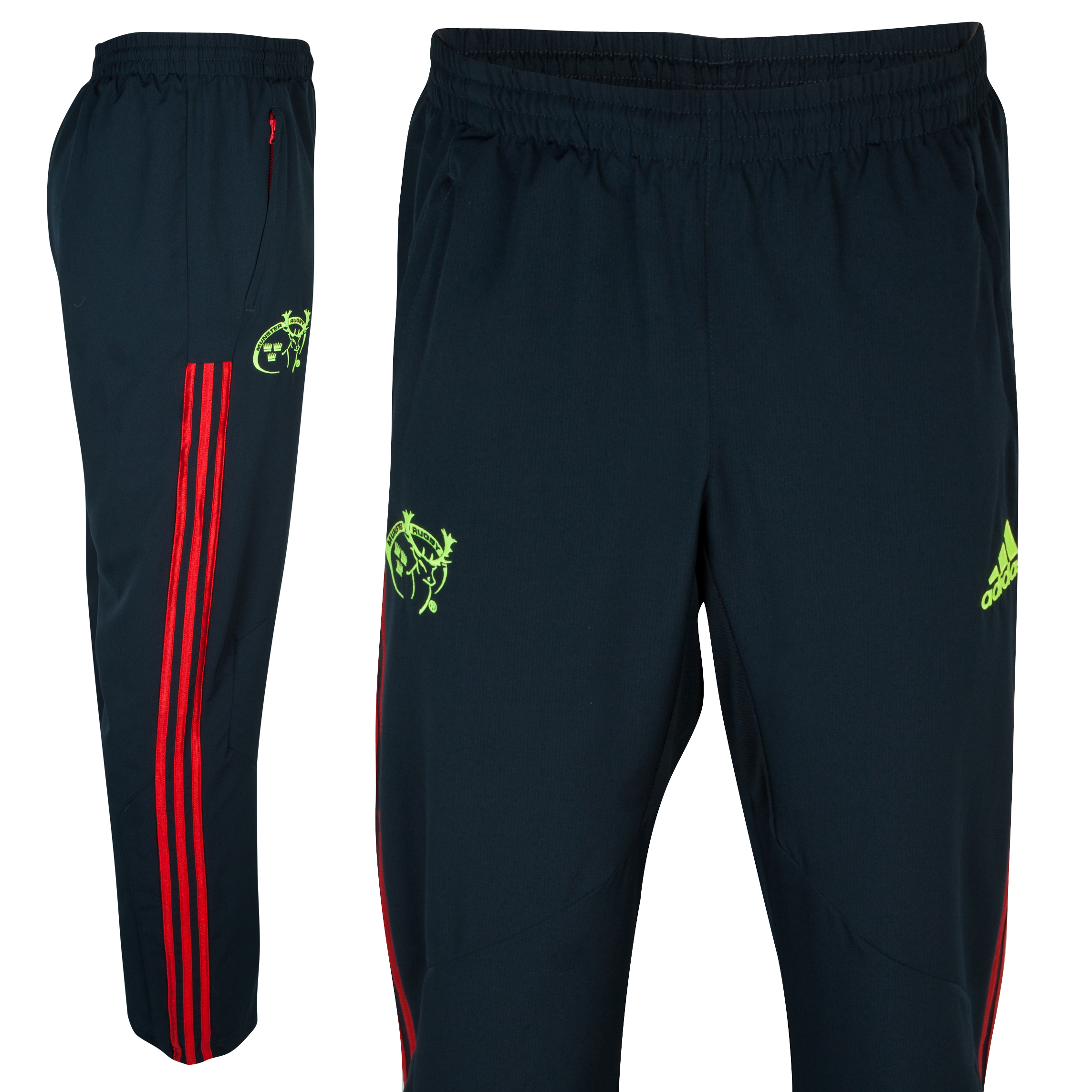 Munster Training Woven Pant - Tech Onix/Collegiate Red