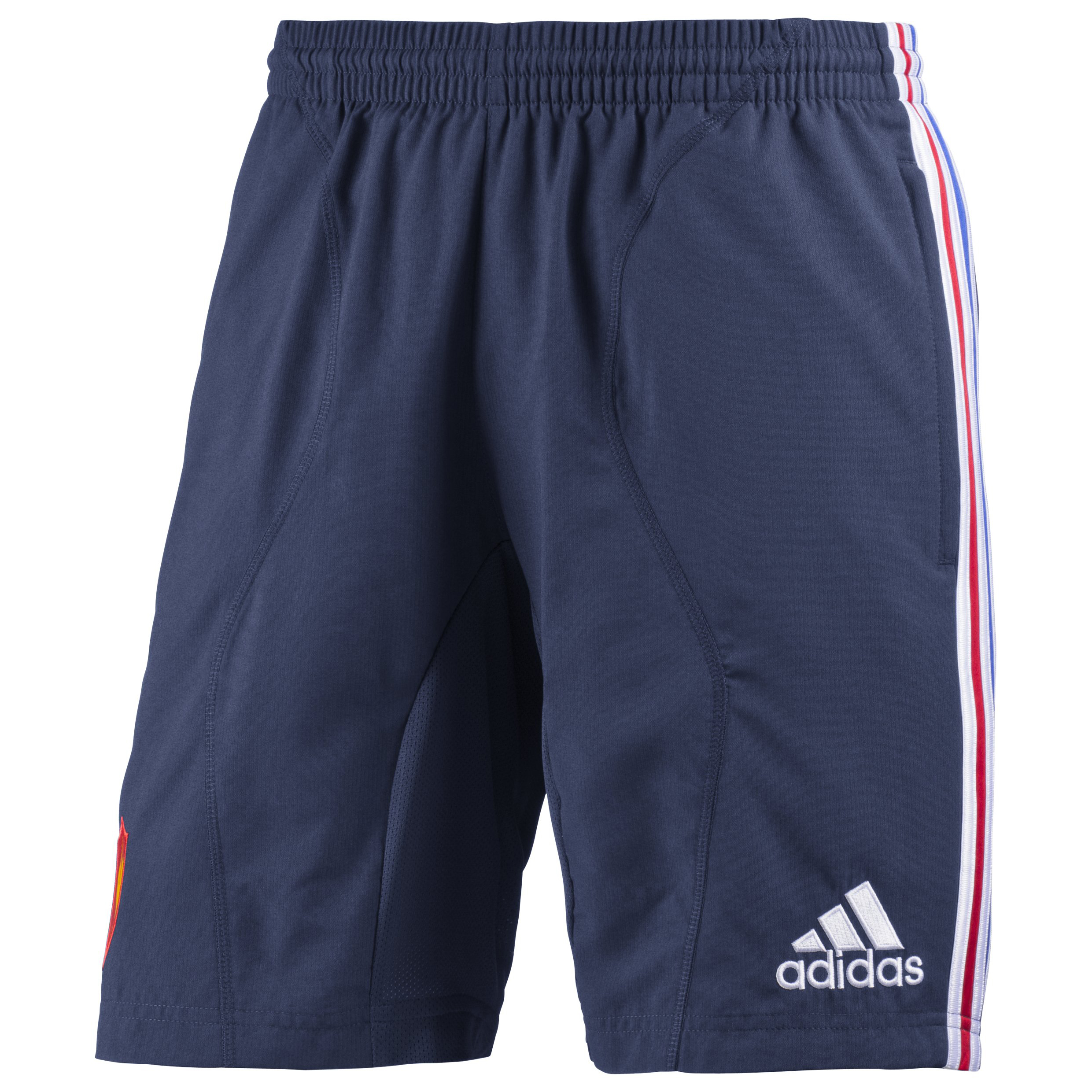 France Rugby Woven Training Short - New Navy