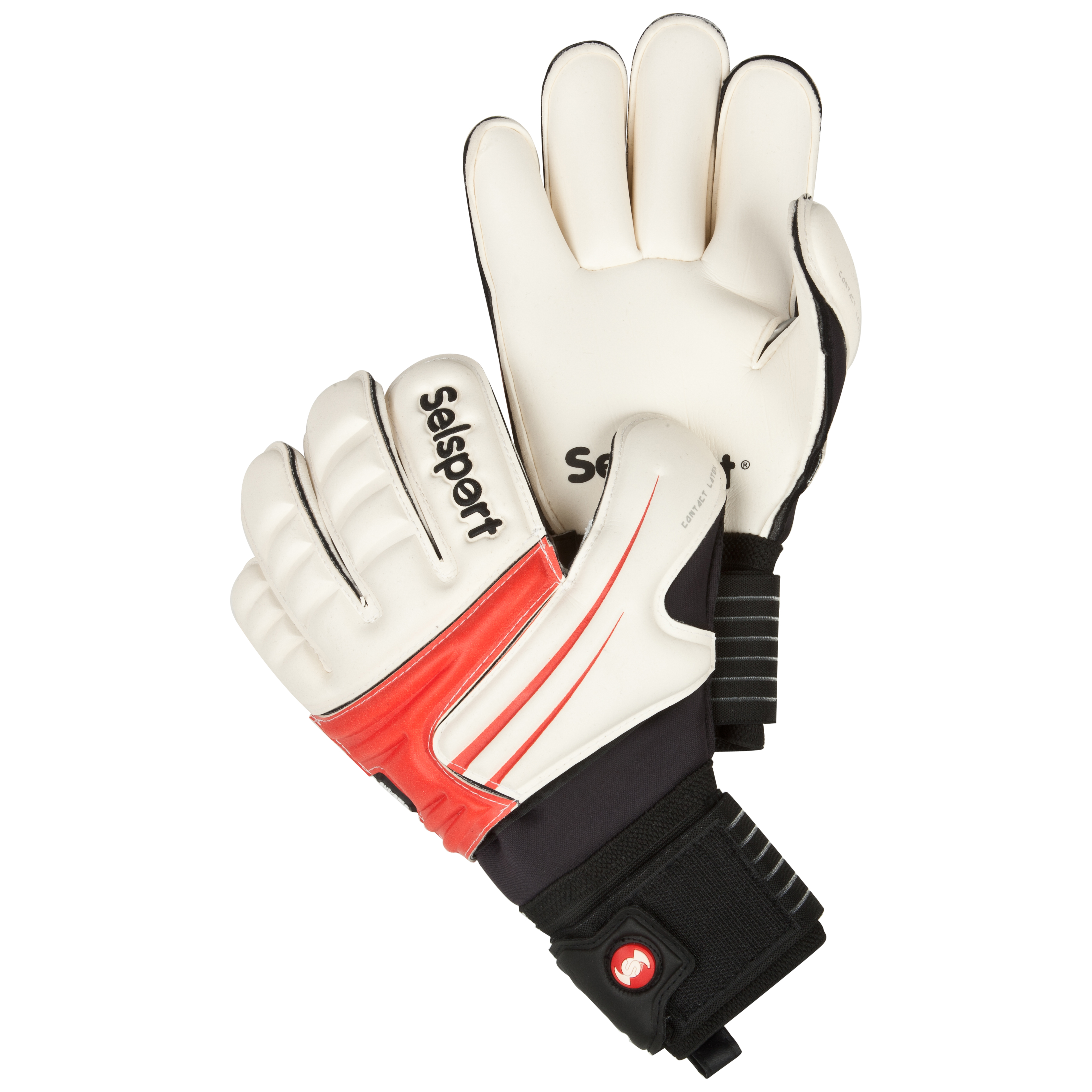 Selsport Extreme 1 Goalkeeper Gloves - Red