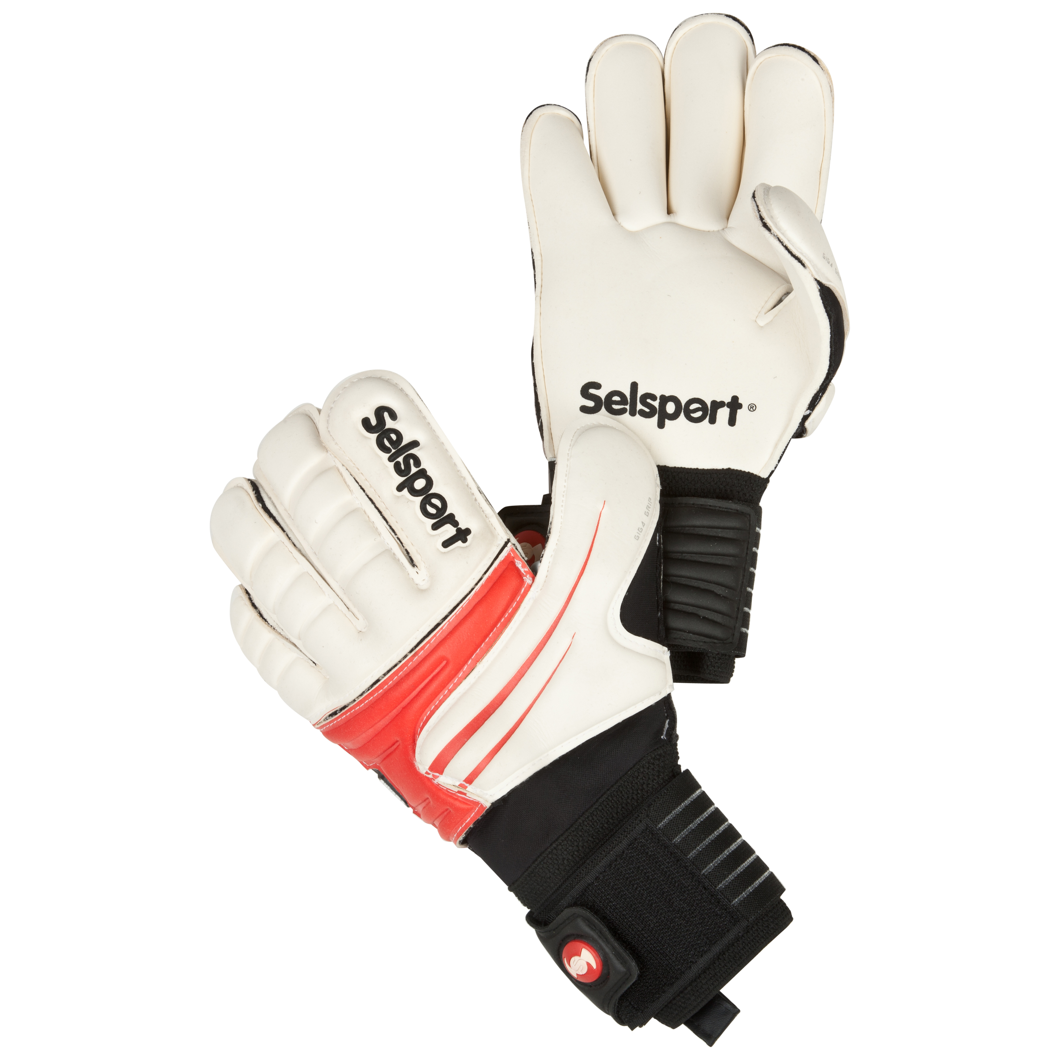 Selsport Extreme 1 Goalkeeper Gloves - Kids-Red