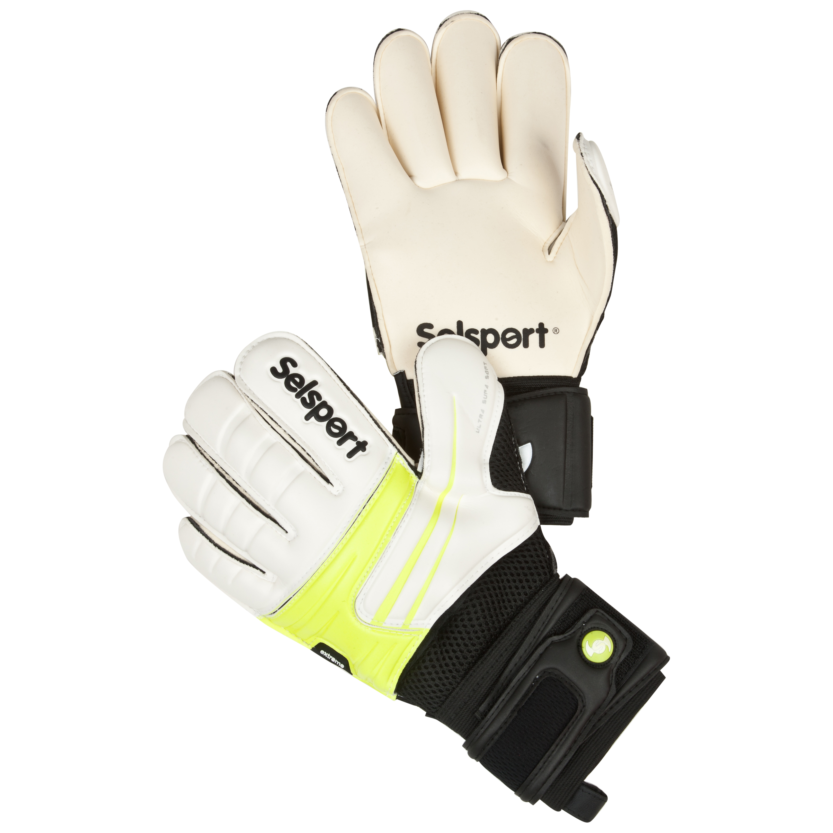 Selsport Extreme 6 Goalkeeper Gloves - Lime