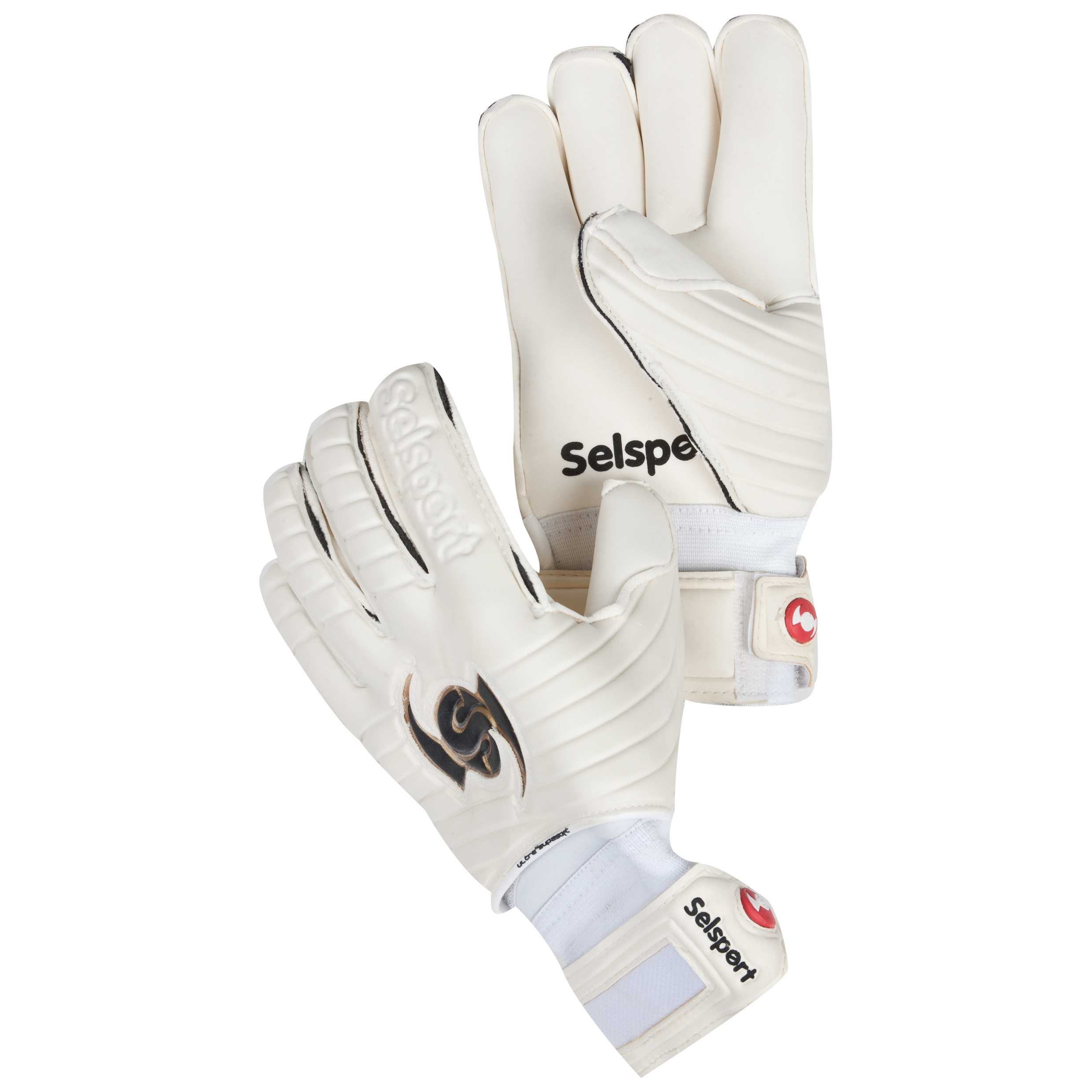 Selsport Wrappa Protect FP Goalkeeper Gloves - Kids - Black