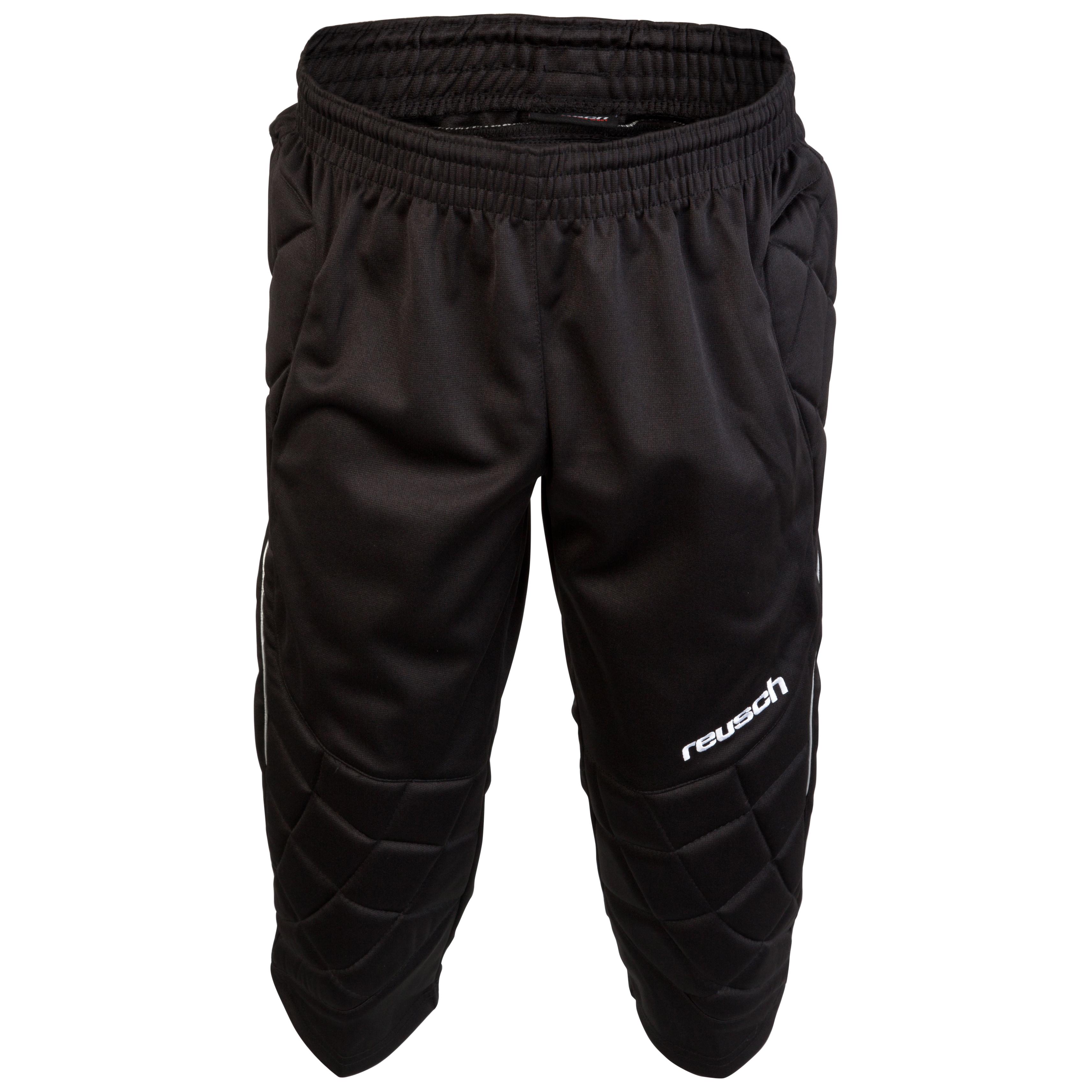 Reusch 360 Protection 3/4 Goalkeeping Pants-Black
