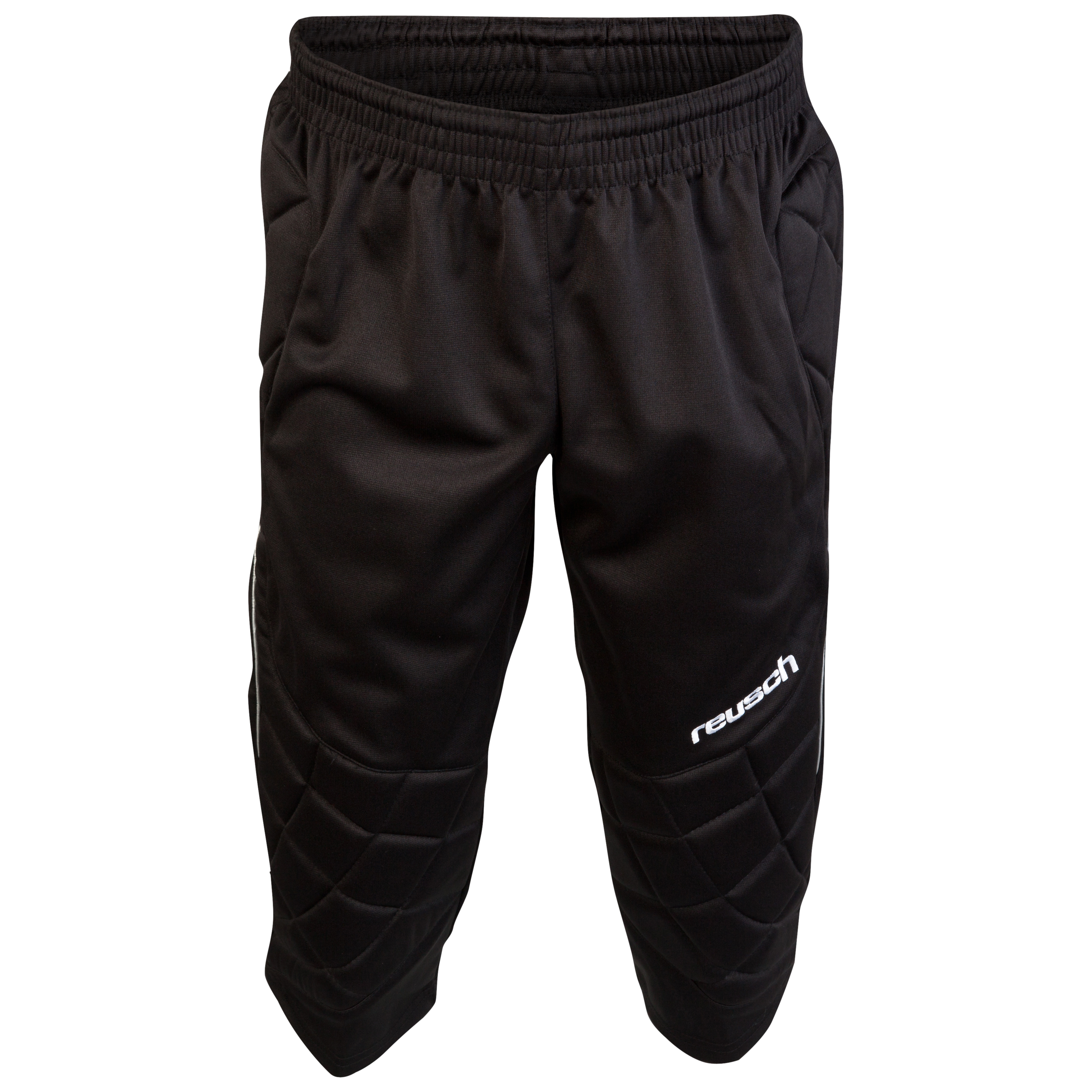 Reusch 360 Protection 3/4 Goalkeeping Pants - Kids-Black