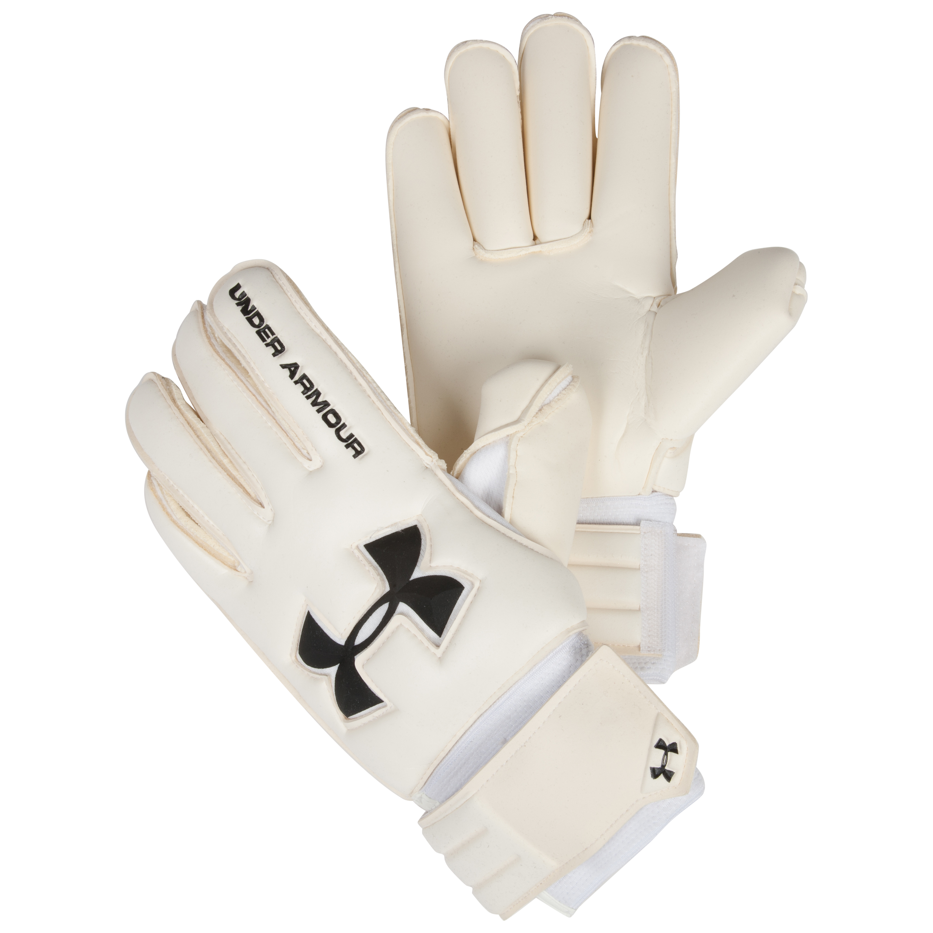 Under Armour Dominate Goalkeeper Gloves-White
