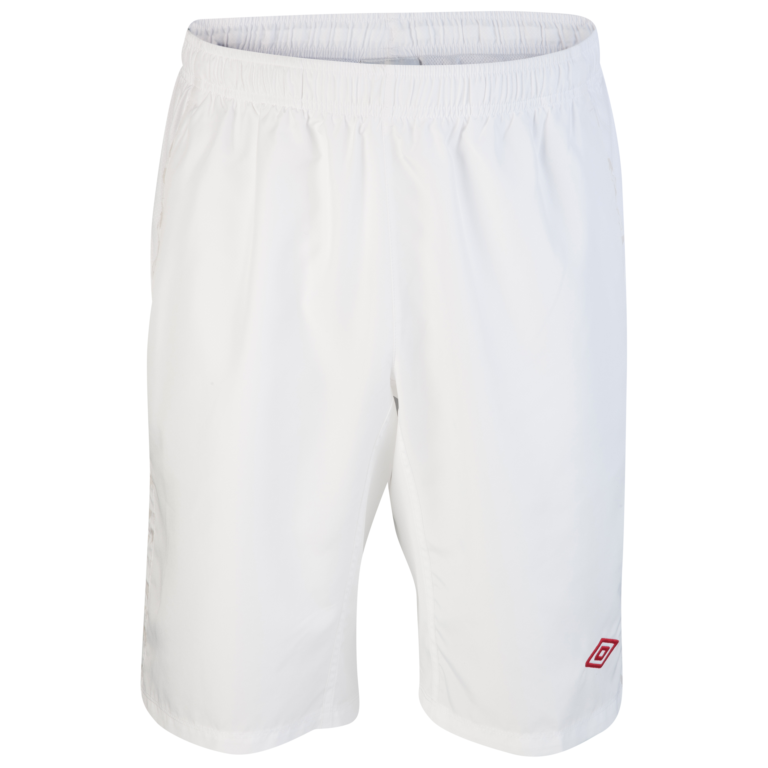 Umbro Geometra Long Woven Short - White