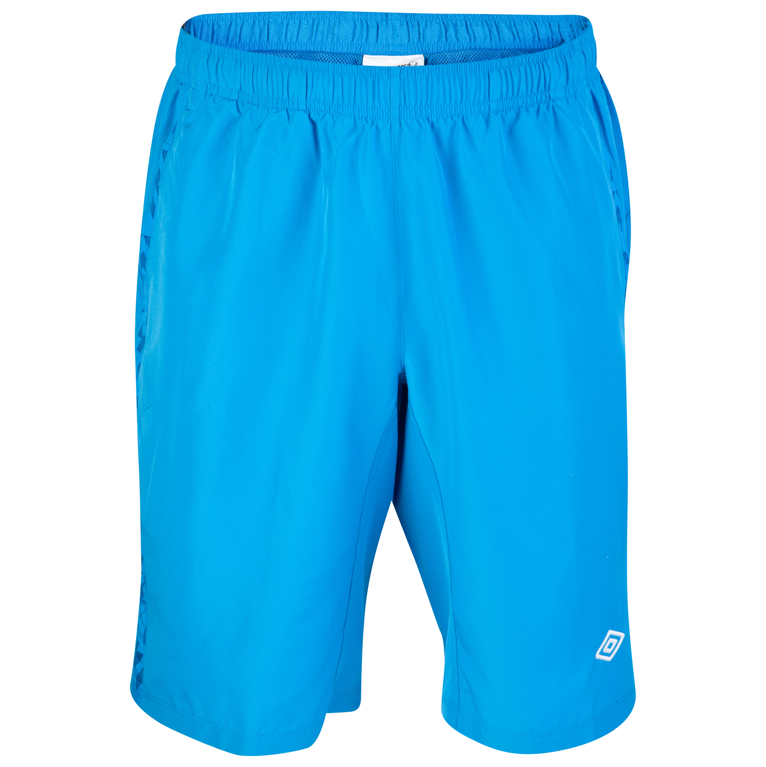 Umbro Geometra Long Woven Short - Brilliant Blue
