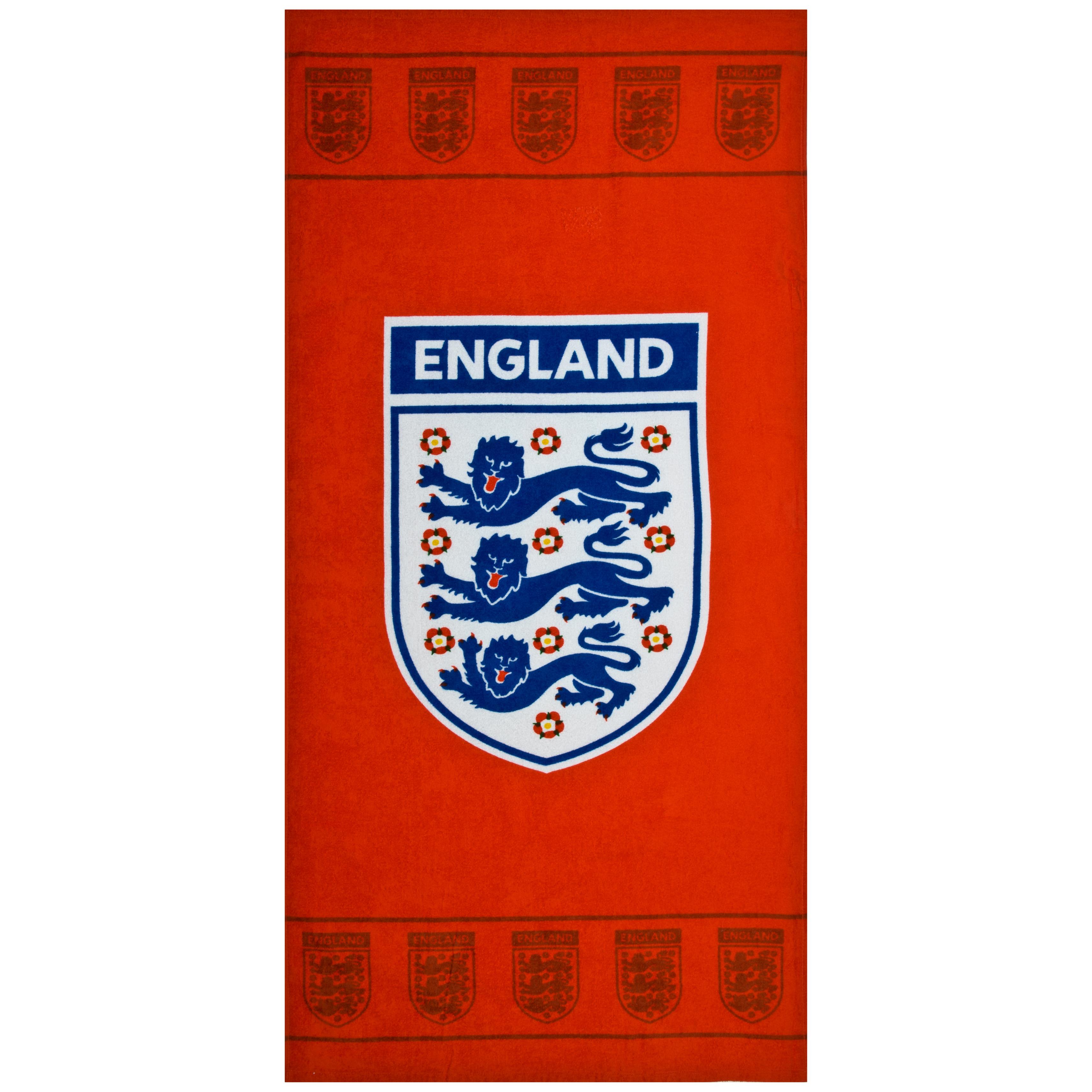 England FA Red Beach Towel