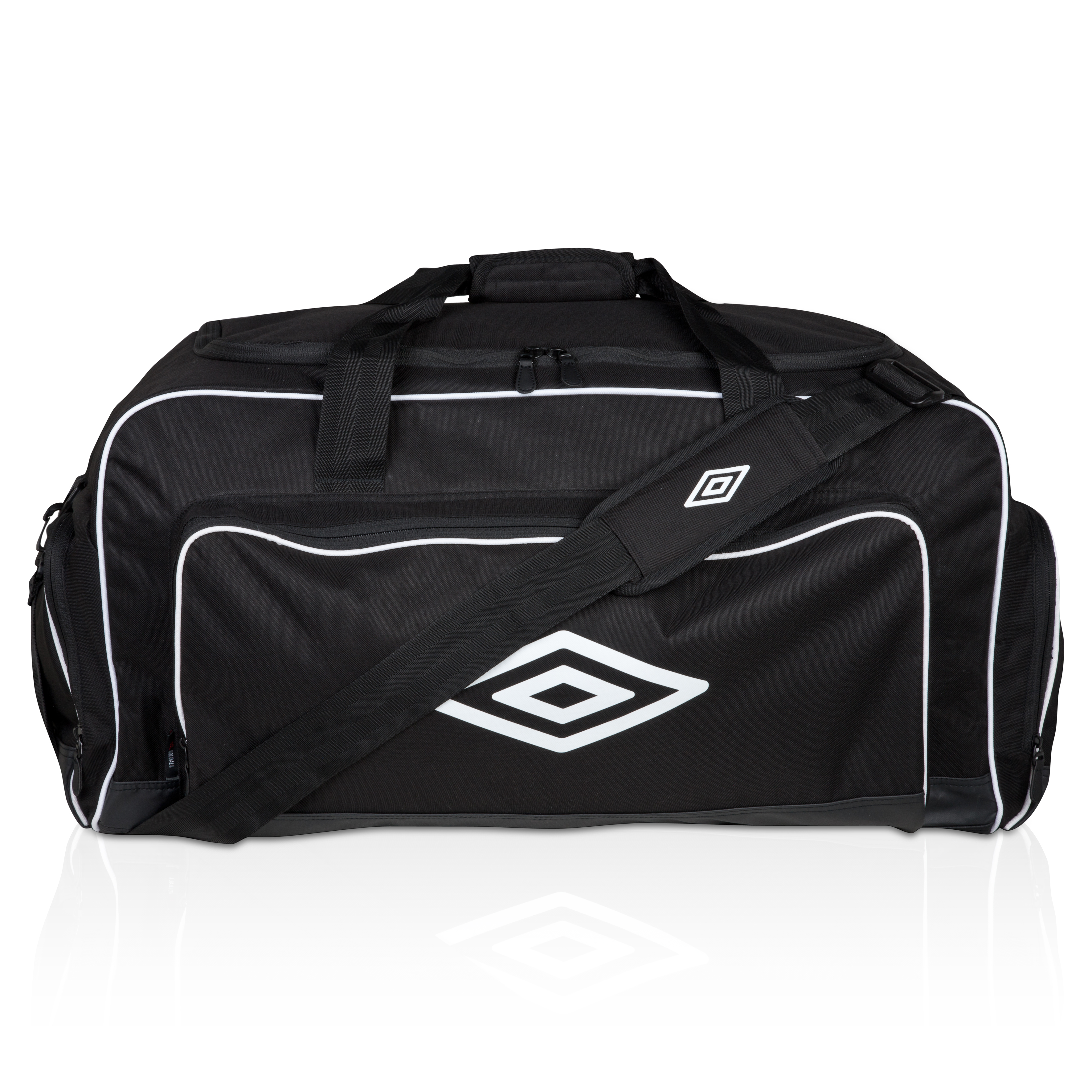 Umbro Large Holdall - Black / White