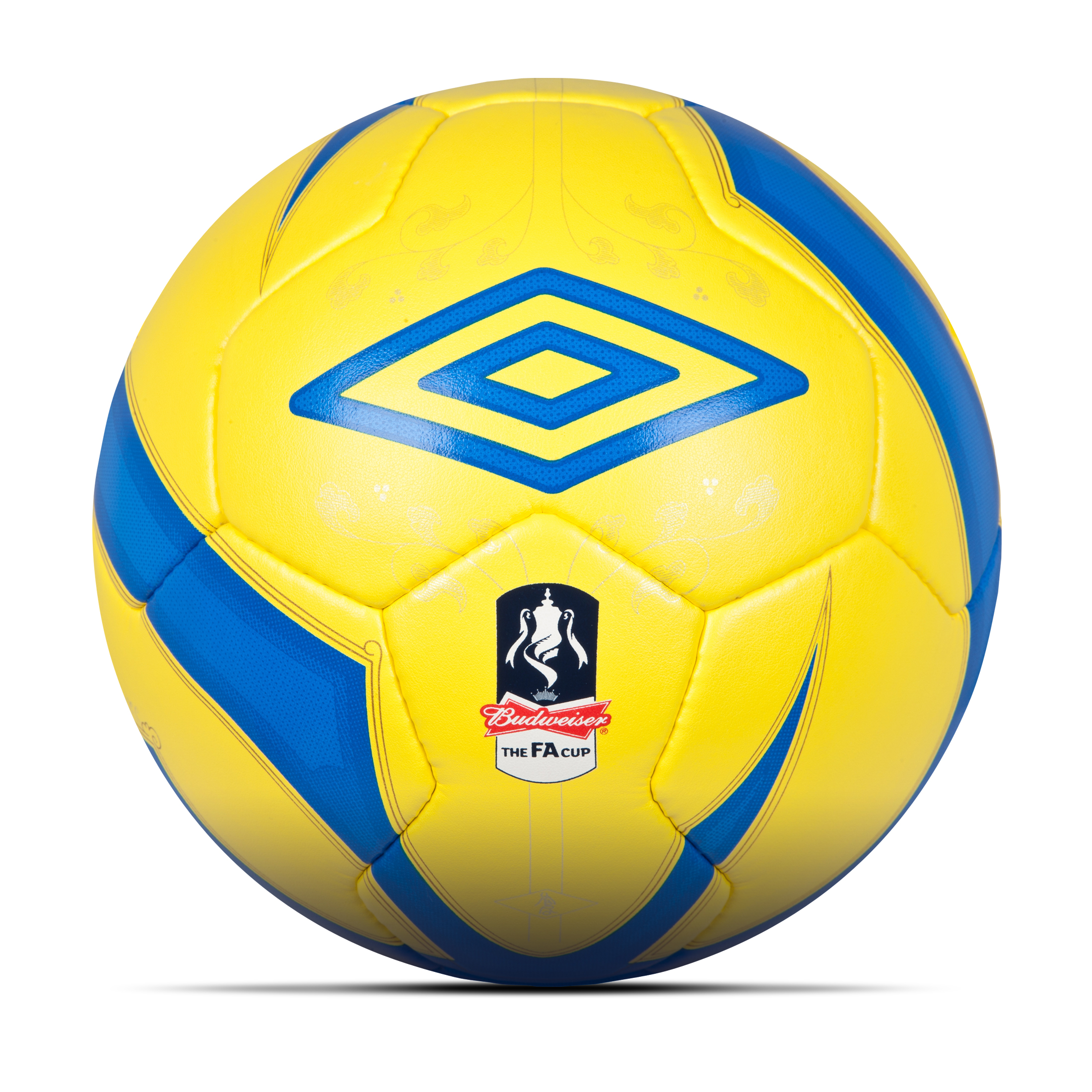Umbro Neo Pro 2 FA Cup 2012/13 Official Match Ball - Yellow/Princess Blue/Gold