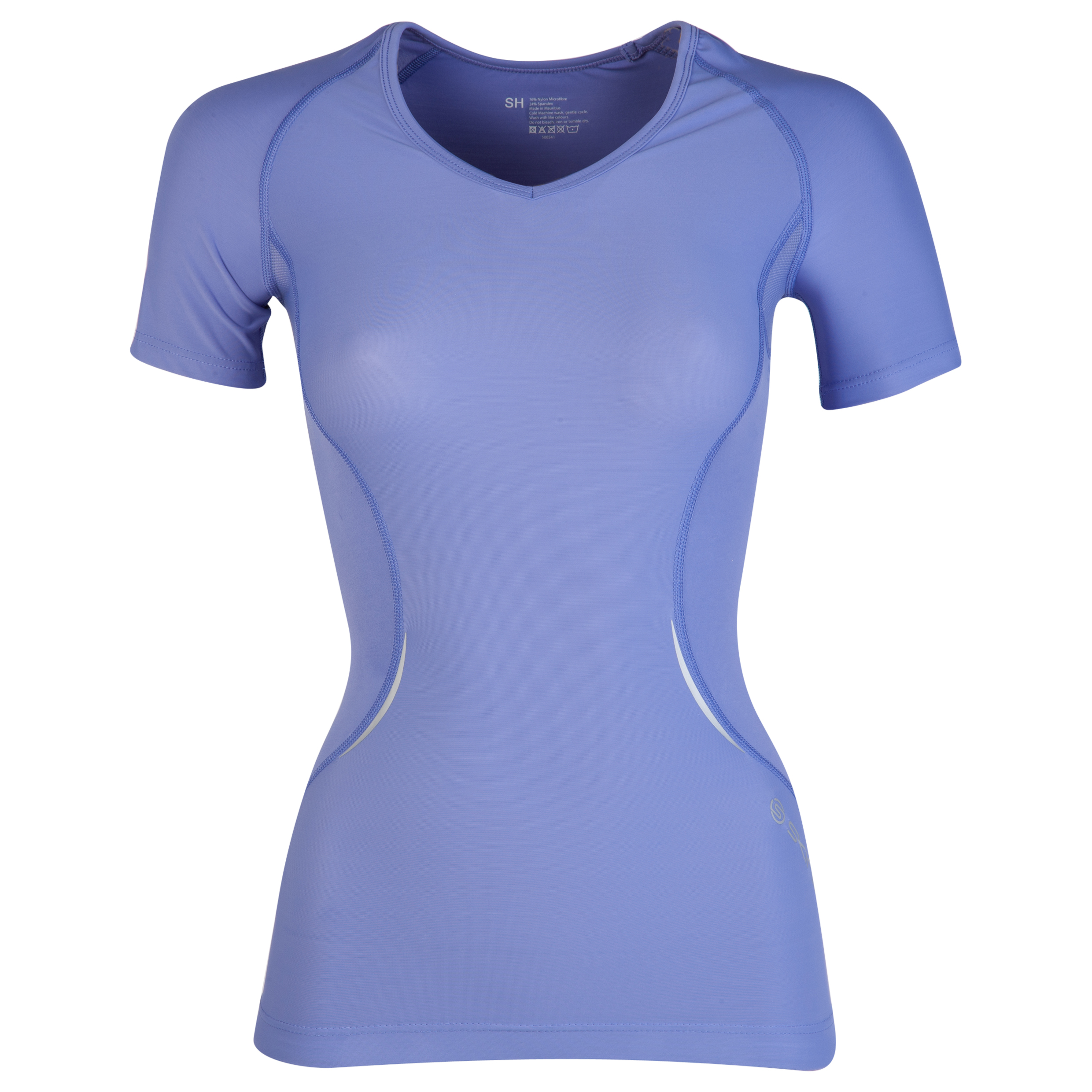 Skins A400 Active Short Sleeve Top -  Amethyst - Womens