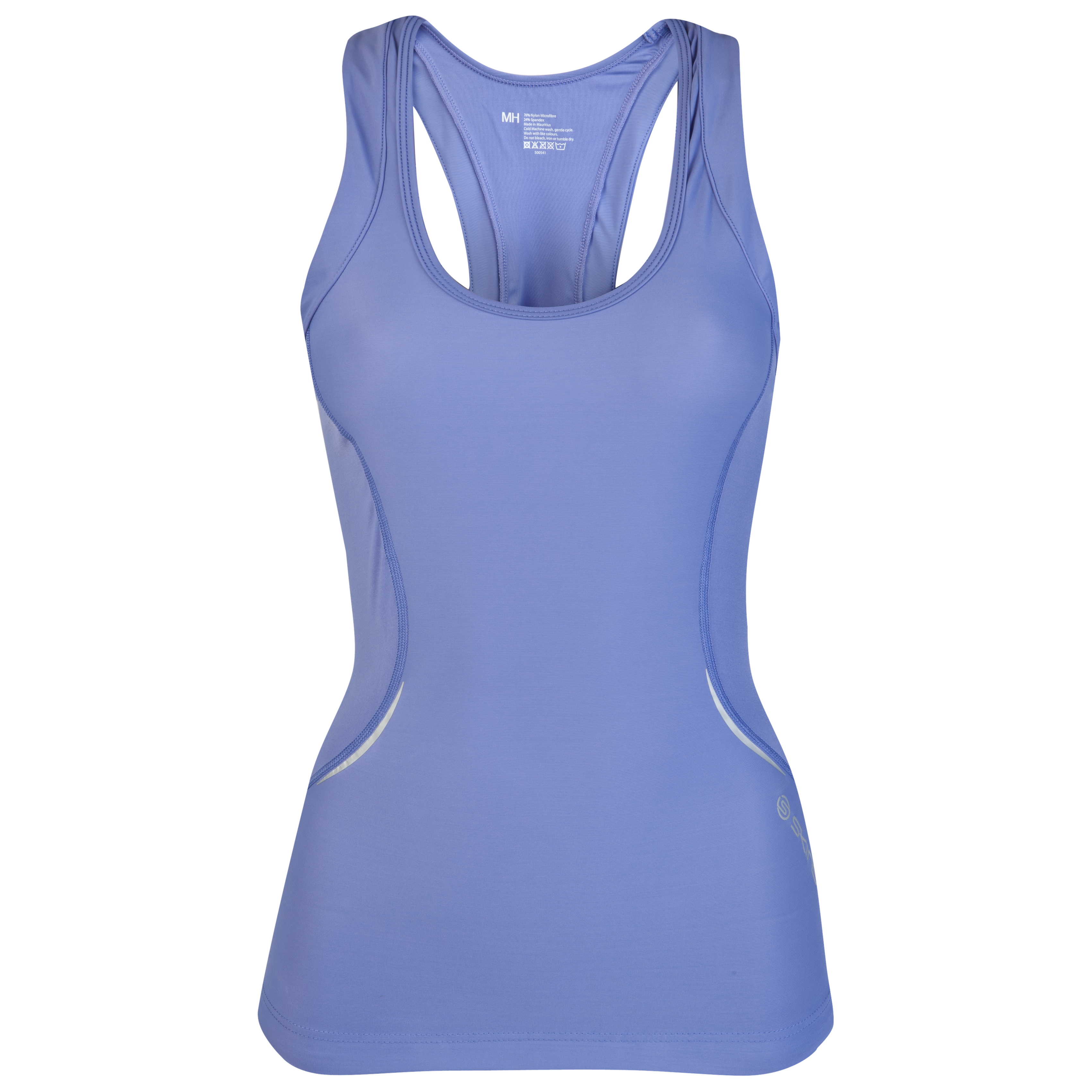 Skins A400 Active Racer Back Top - Amethyst - Womens