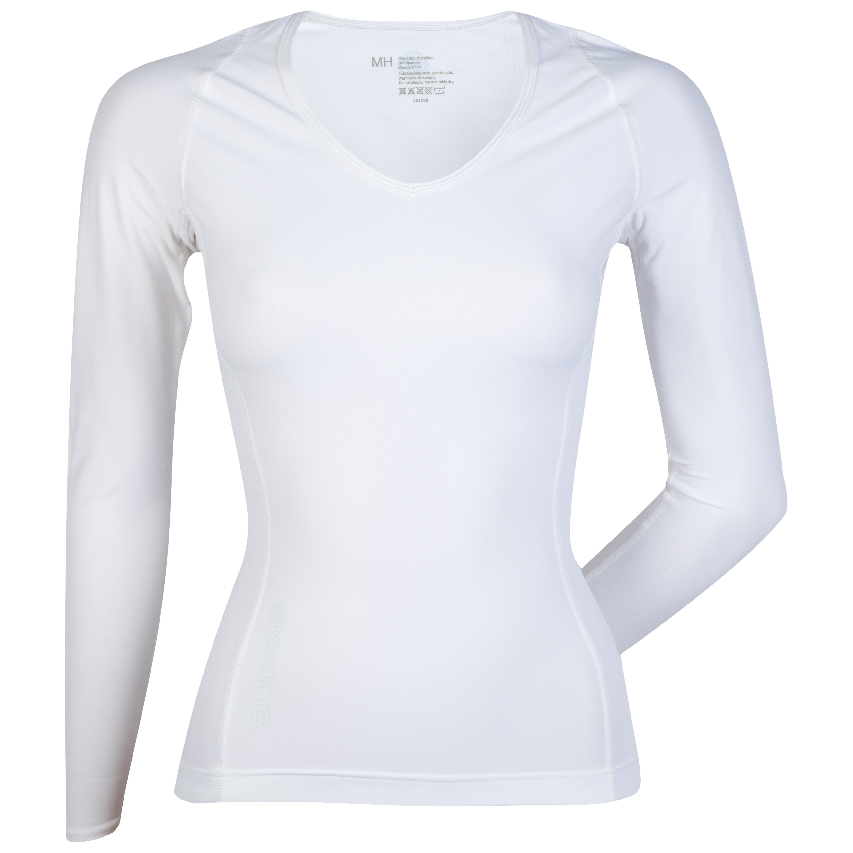 Skins RY400 Recovery Long Sleeve Top - White - Womens