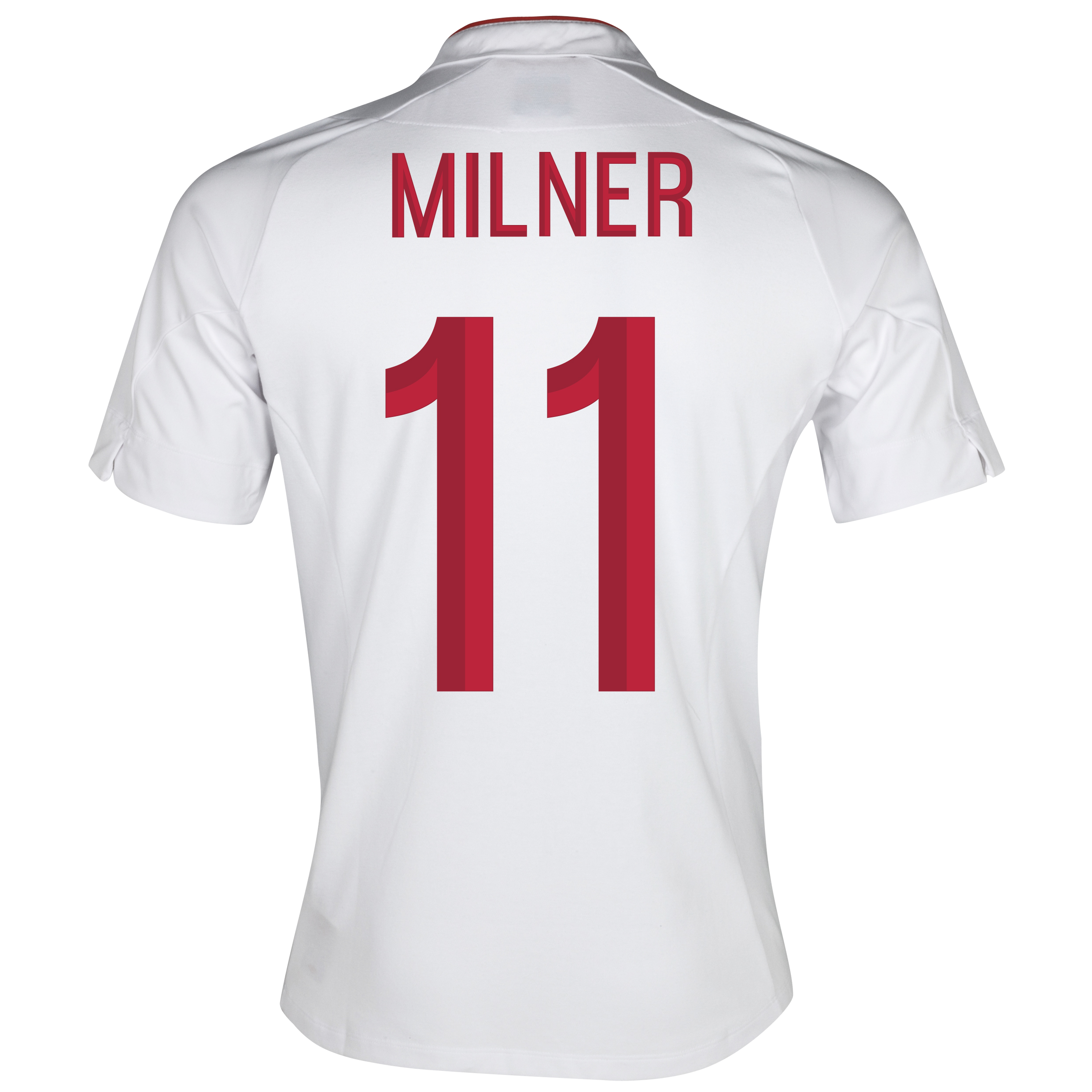 England Home Shirt 2012/13 - Boys with Milner 16 printing