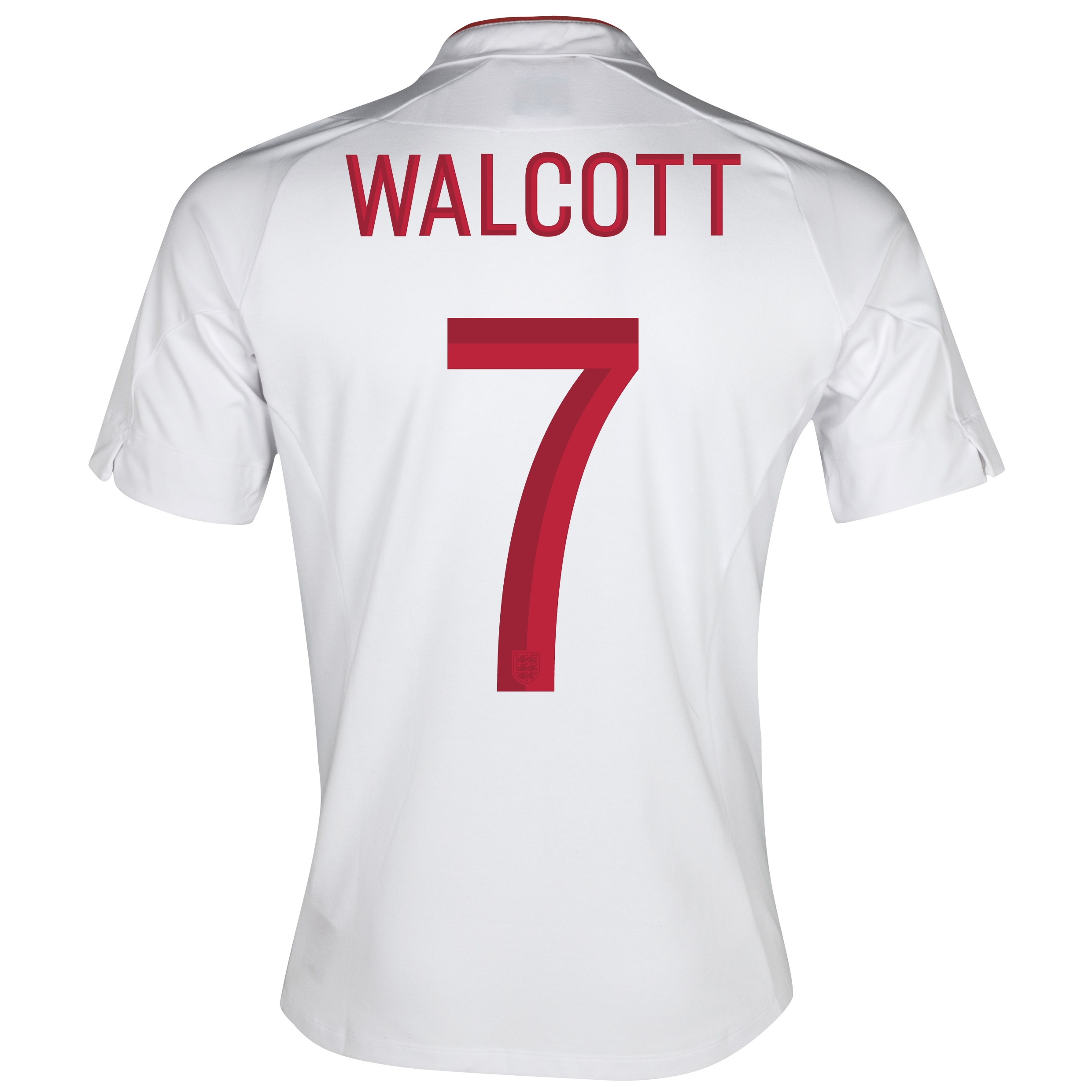 England Home Shirt 2012/13 - Boys with Walcott  7 printing