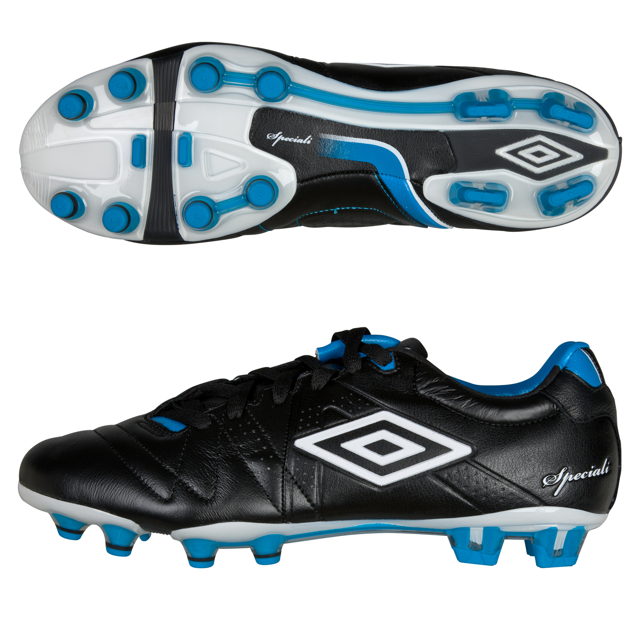Umbro SpeciaII II Pro Hg- Black/White/Mid Blue