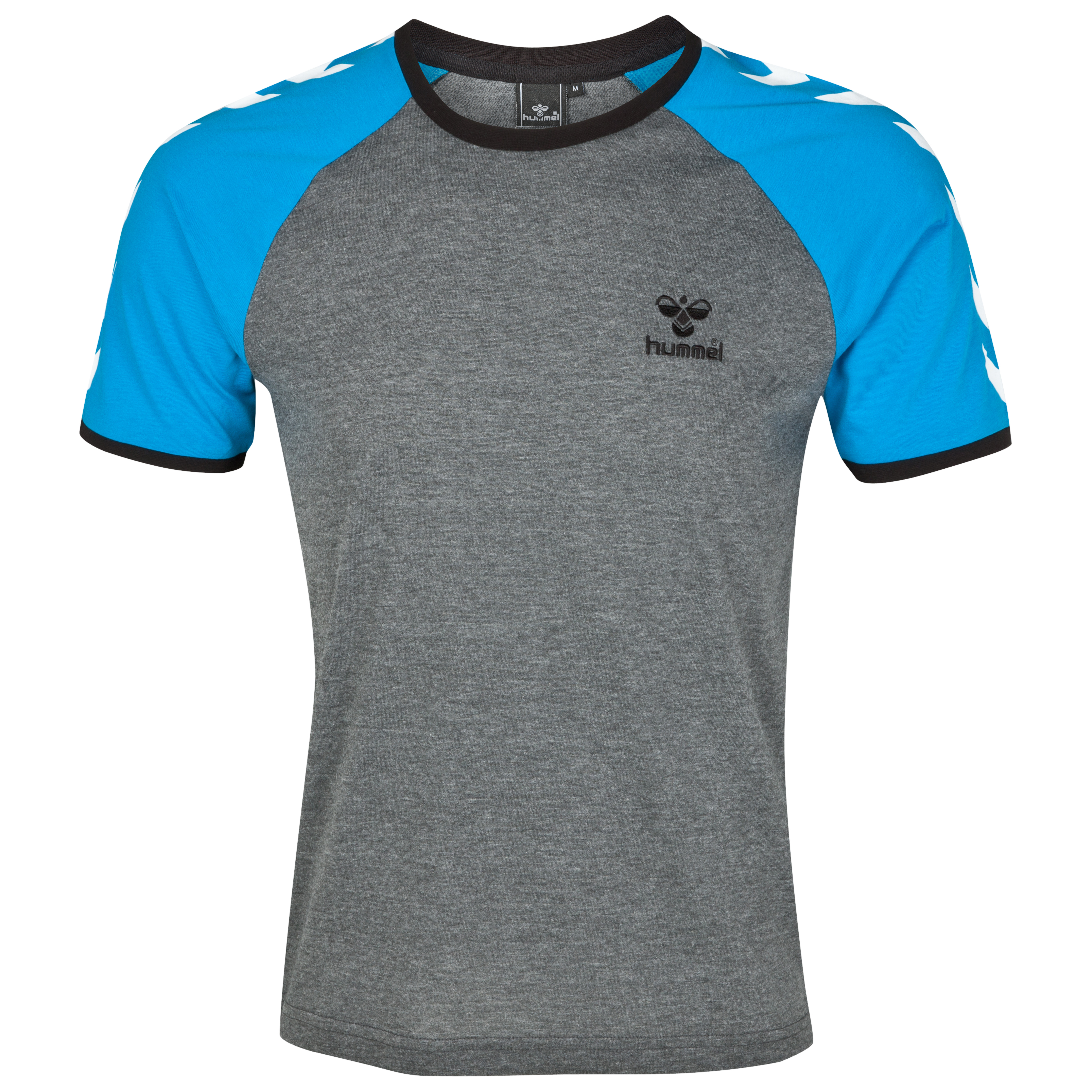 Hummel Oregon T-Shirt - Dark Grey Melange