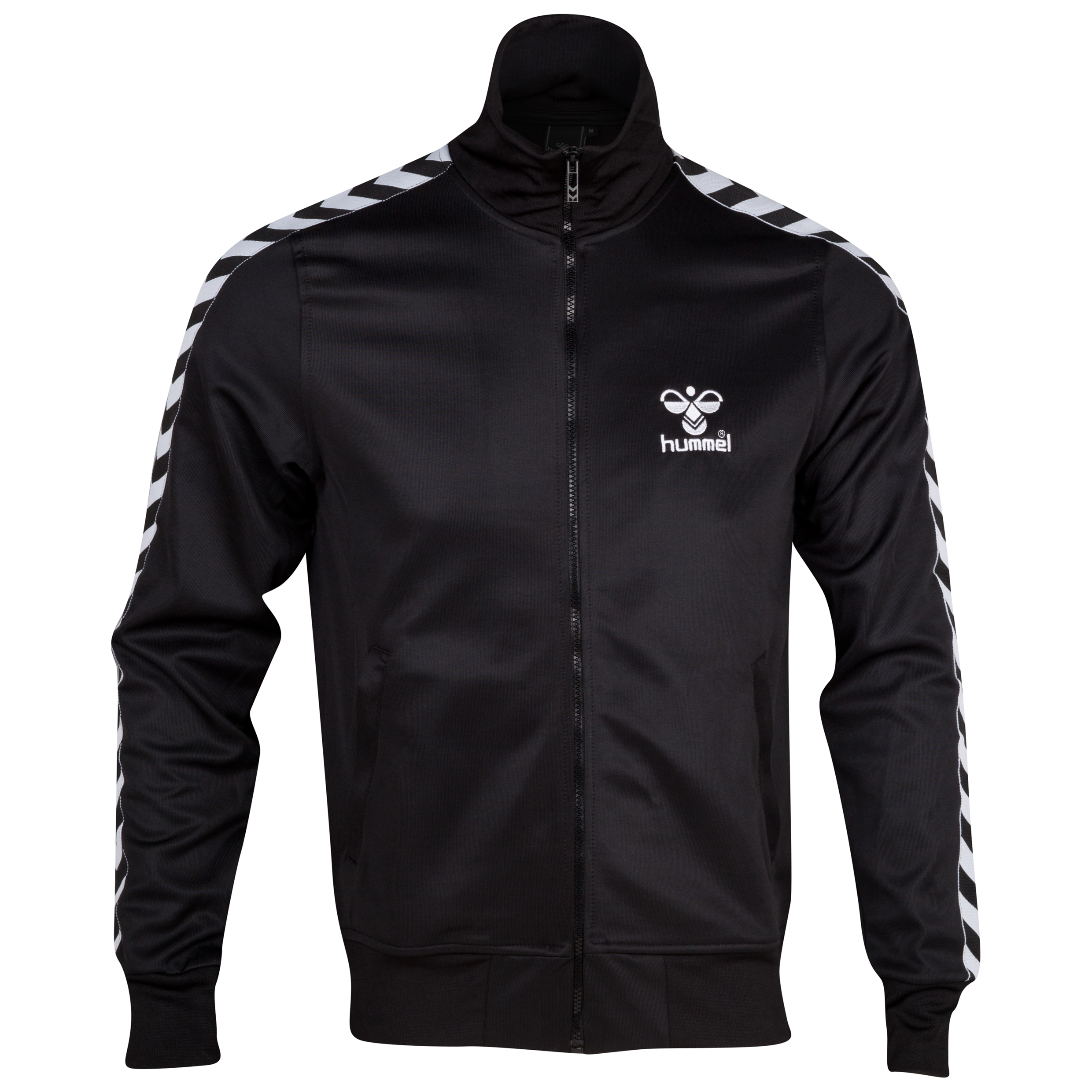 Hummel Atlantic Zip Track Jacket - Black/White