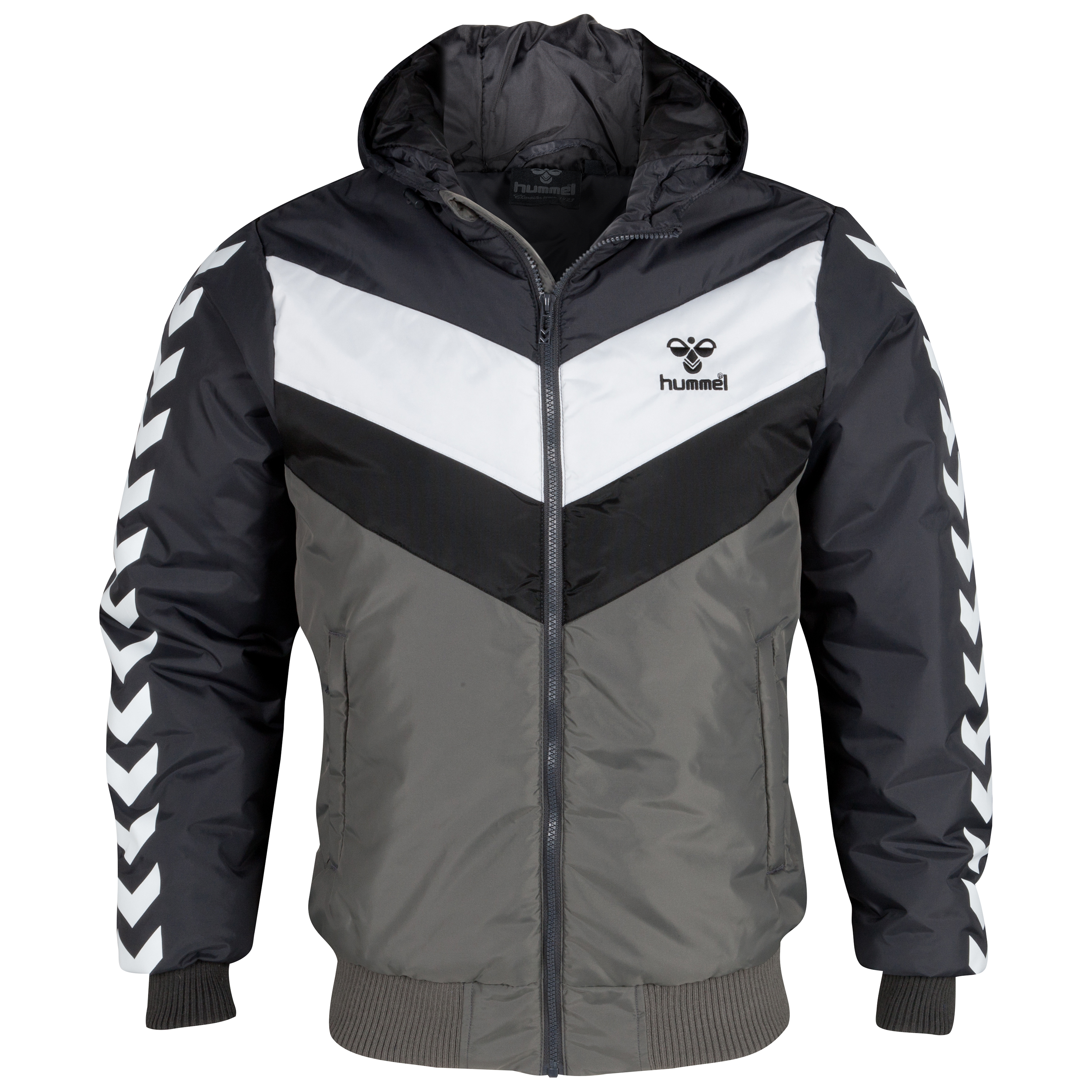 Hummel Icon Jacket - Grey Ebony