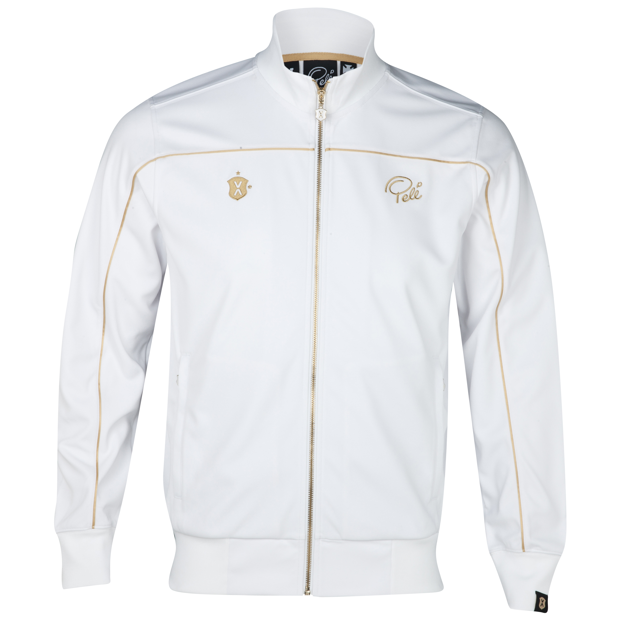 Pele Sports Street Track Jacket - Snow White