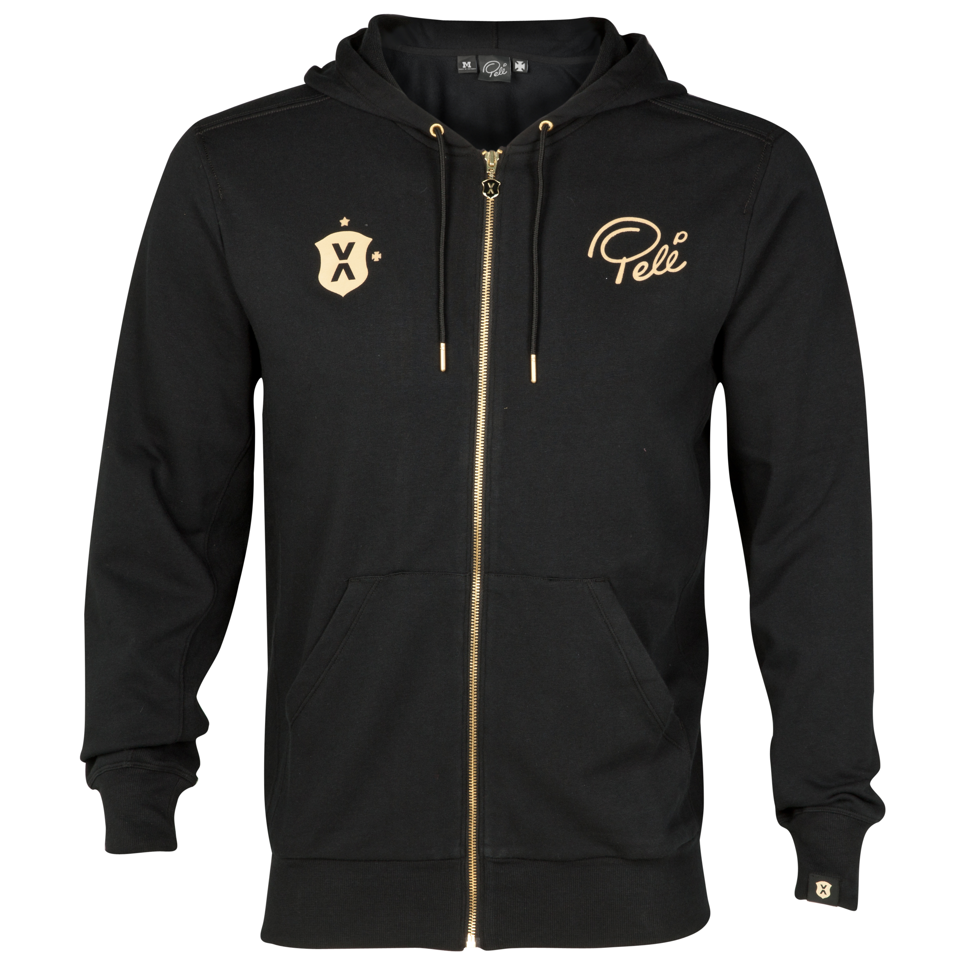 Pele Sports Zip Hoody - Black Anthracite
