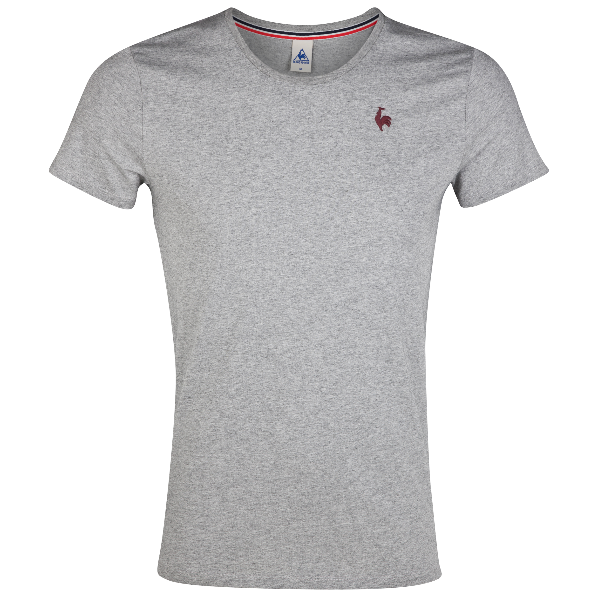 Le Coq Sportif T-Shirt - Light Heather Grey