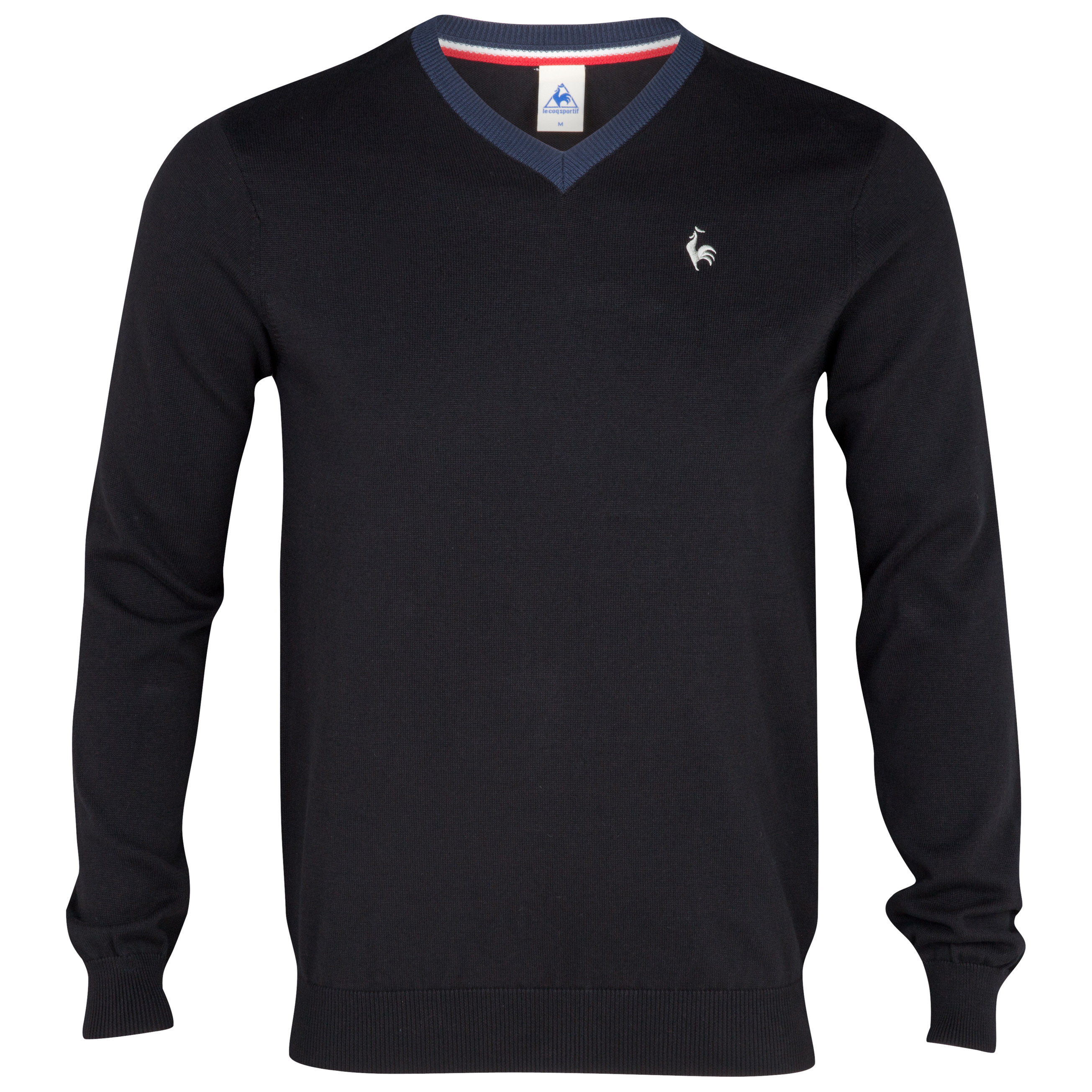 Le Coq Sportif Pull Over Knit - Black