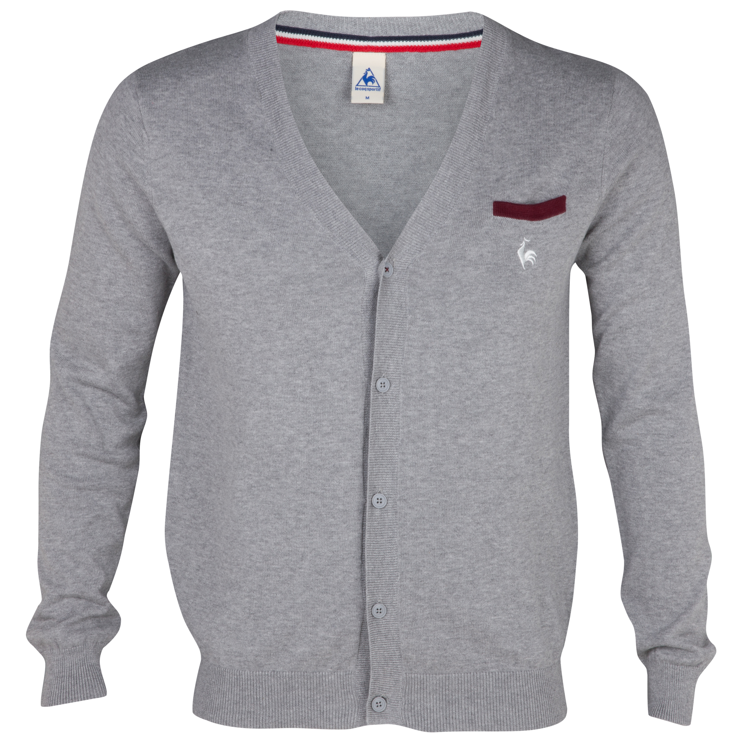 Le Coq Sportif  Cardigan - Light Heather Grey