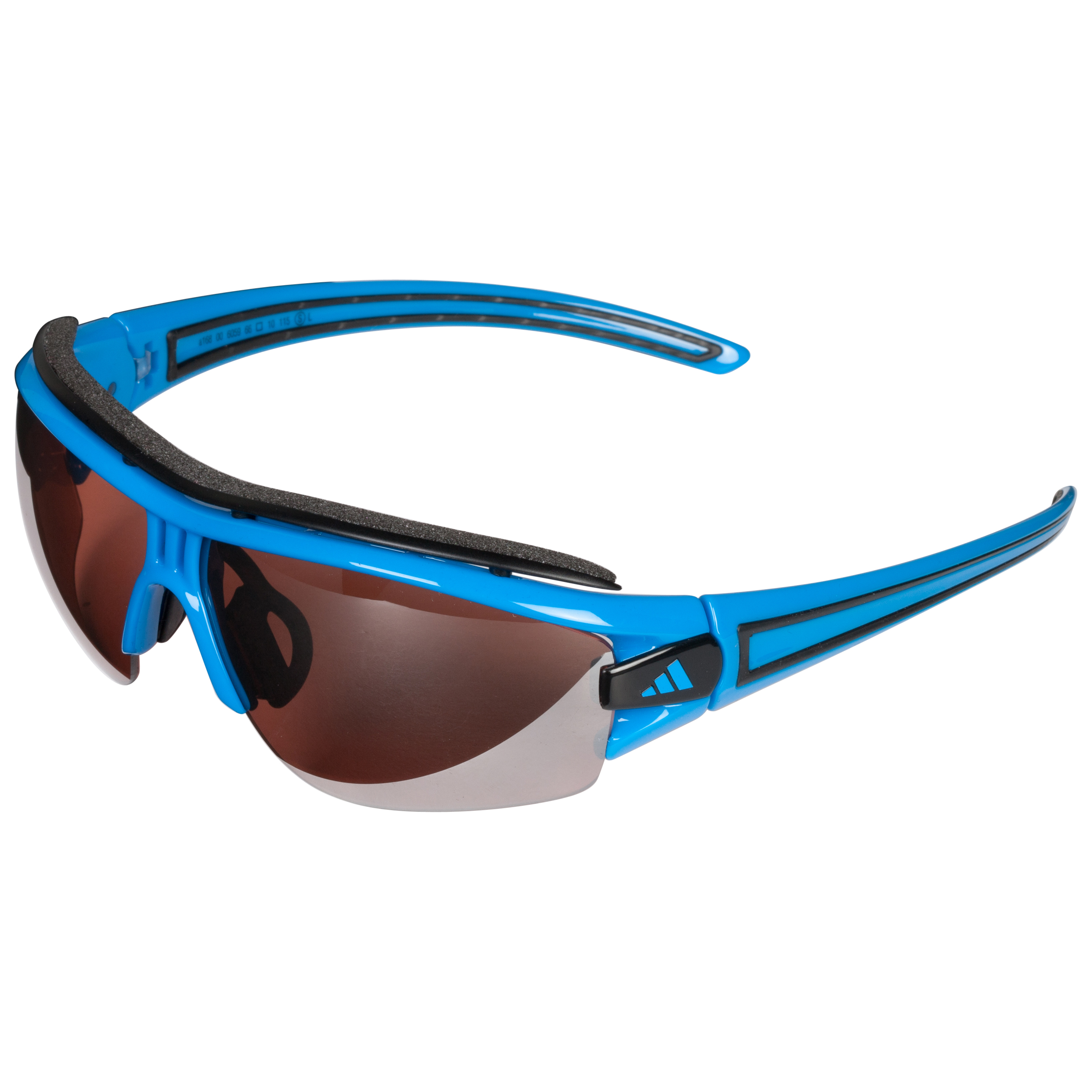Adidas Evil Eye Halfrim Pro Sunglasses - Blue - Small