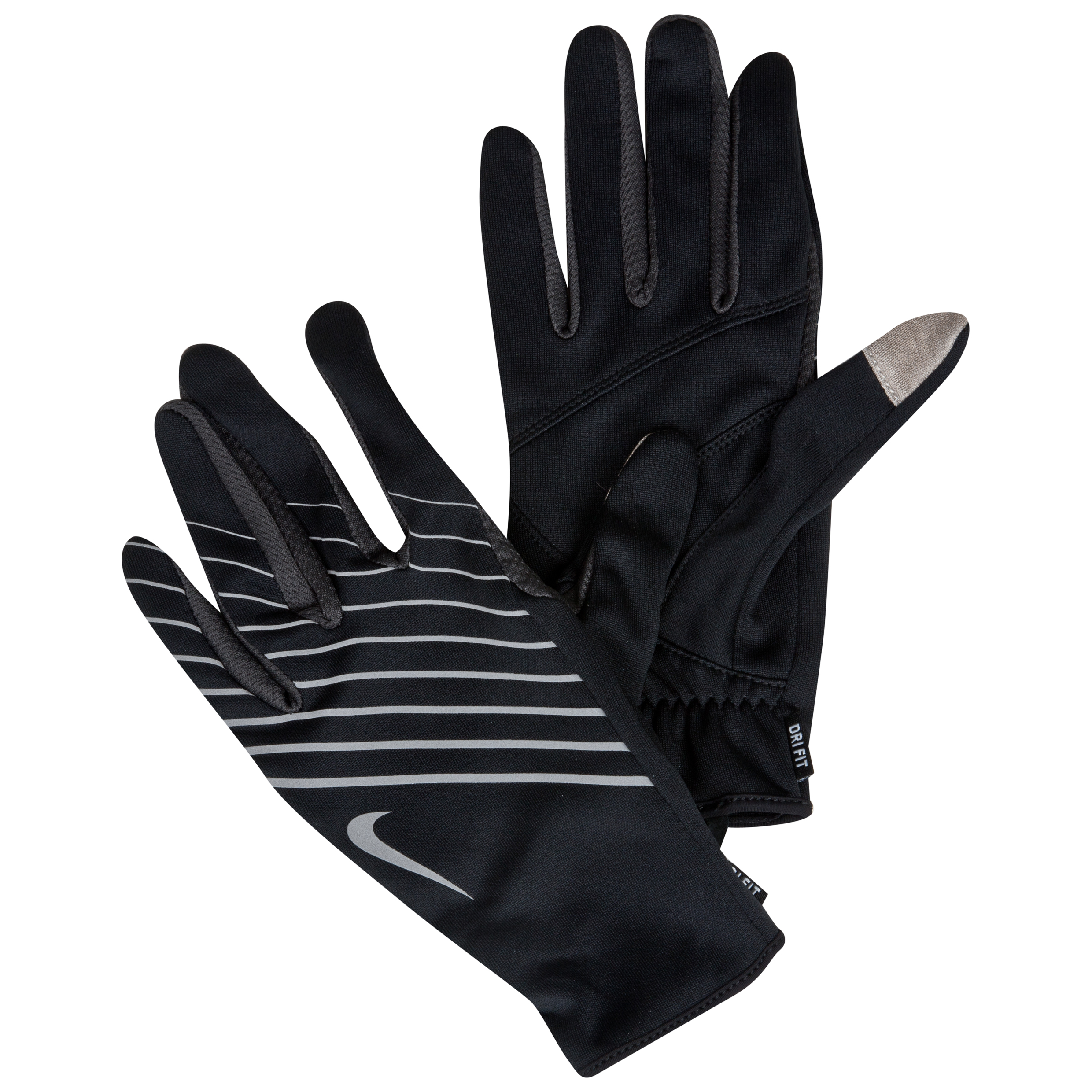 Nike Lightweight Tech Run Gloves - Black/Anthracite - Womens