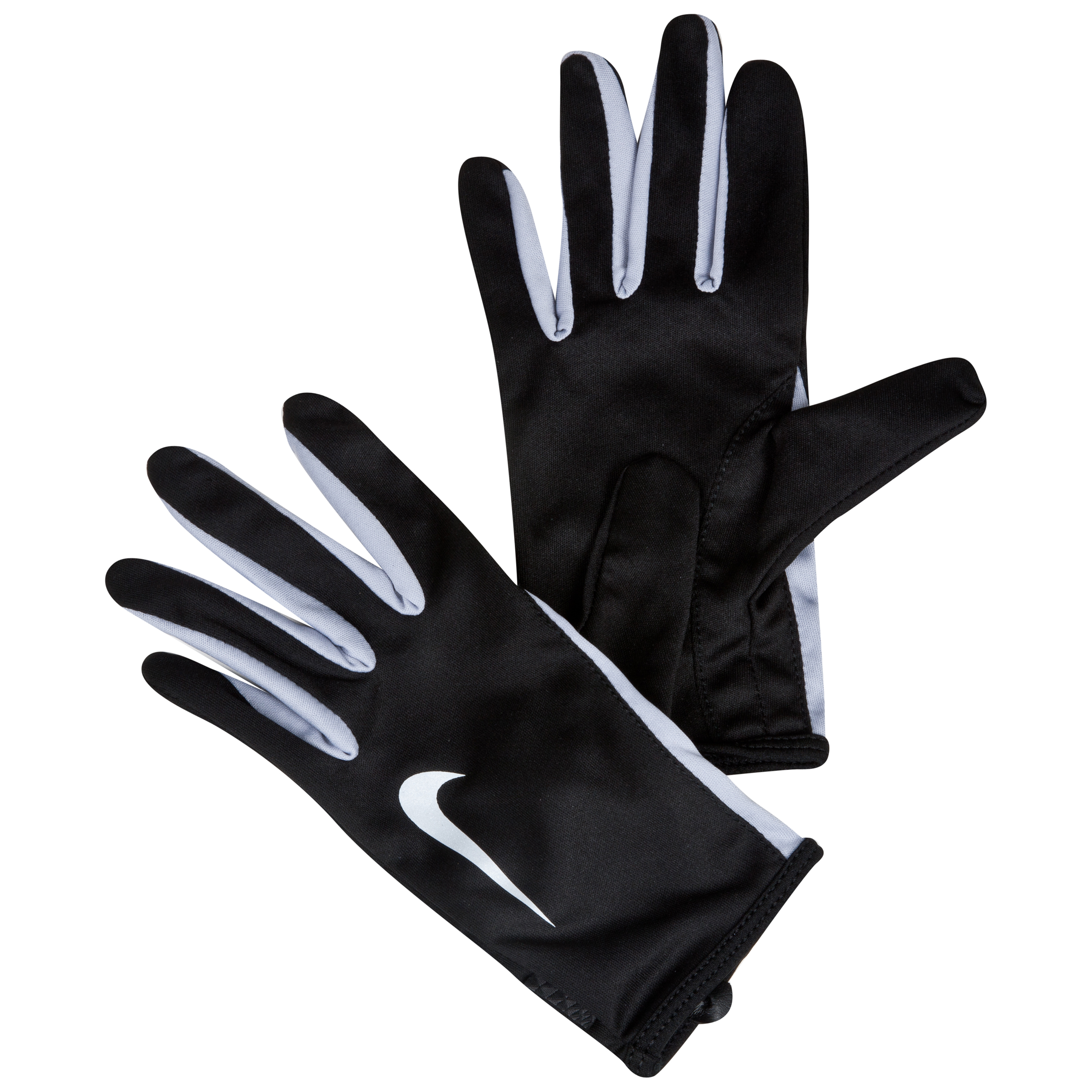 Nike Swift Running Gloves - Black/Wolf Grey - Womens