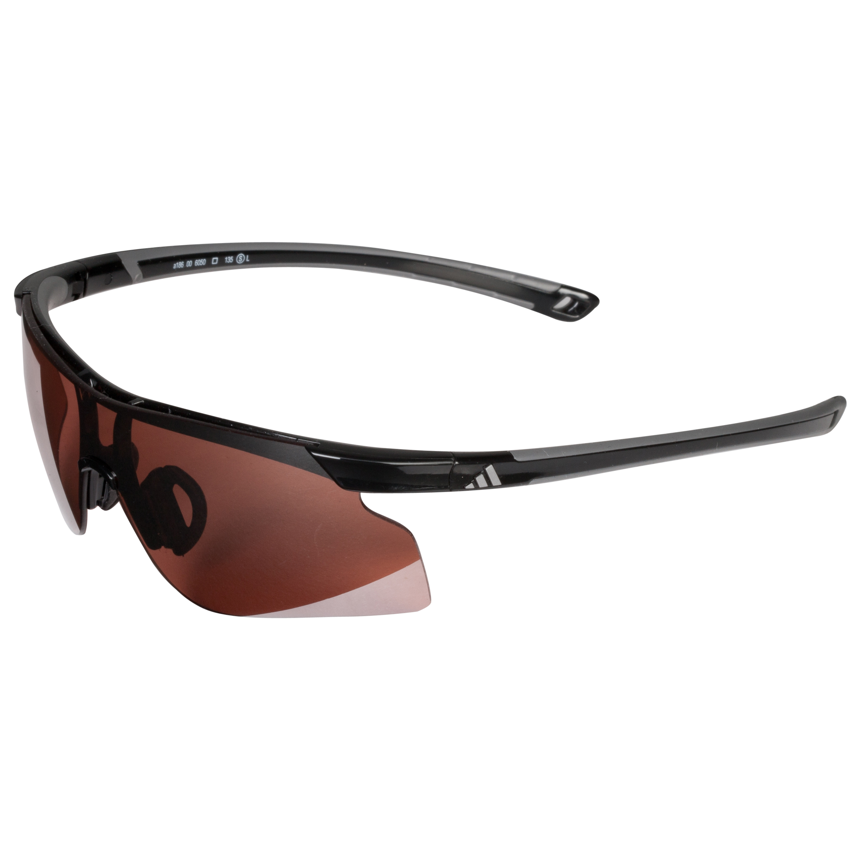 Adidas Adizero Tempo Sunglasses - Black - Small