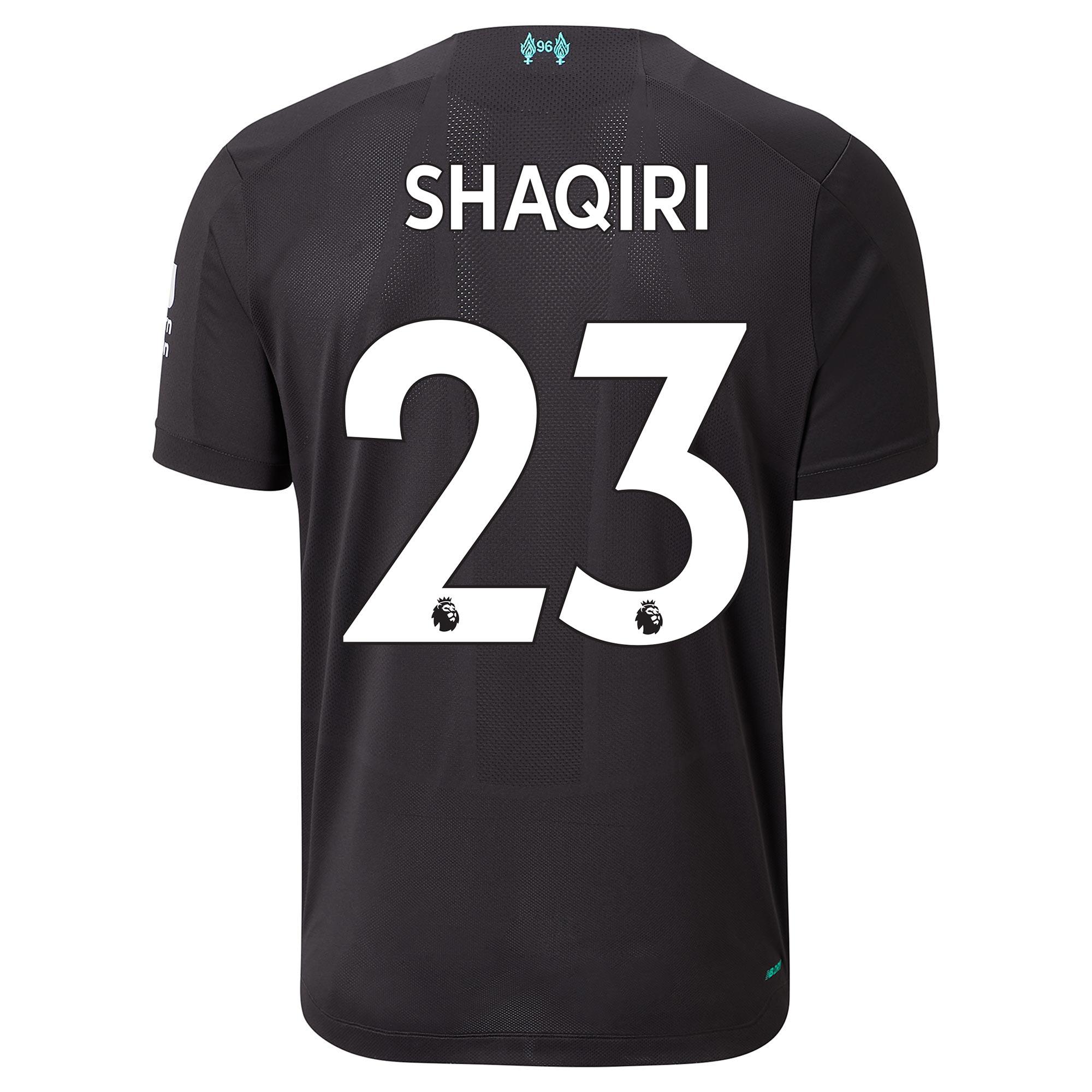 Liverpool Third Shirt 2019-20 with Shaqiri 23 printing