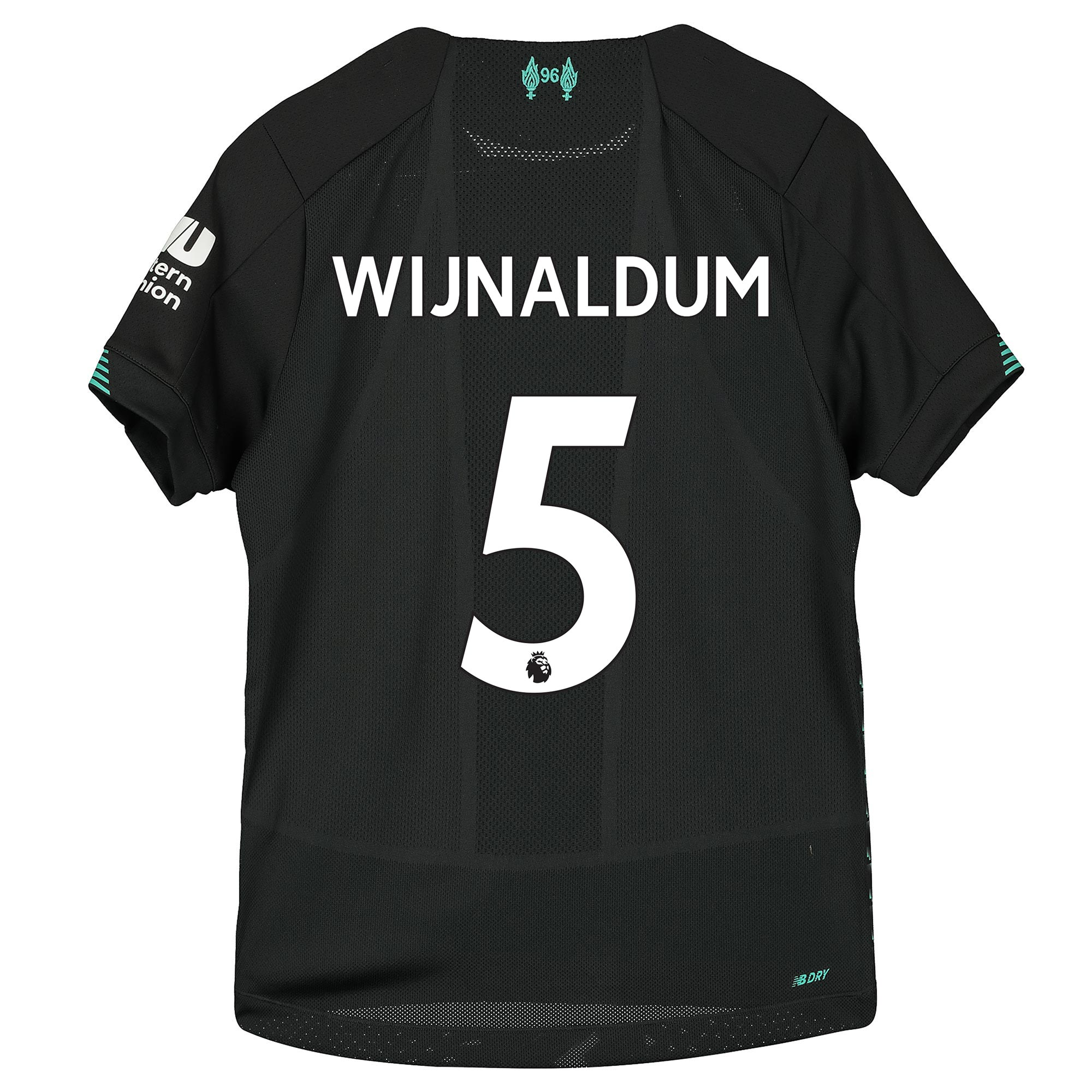 Liverpool Third Shirt 2019-20 - Kids with Wijnaldum 5 printing