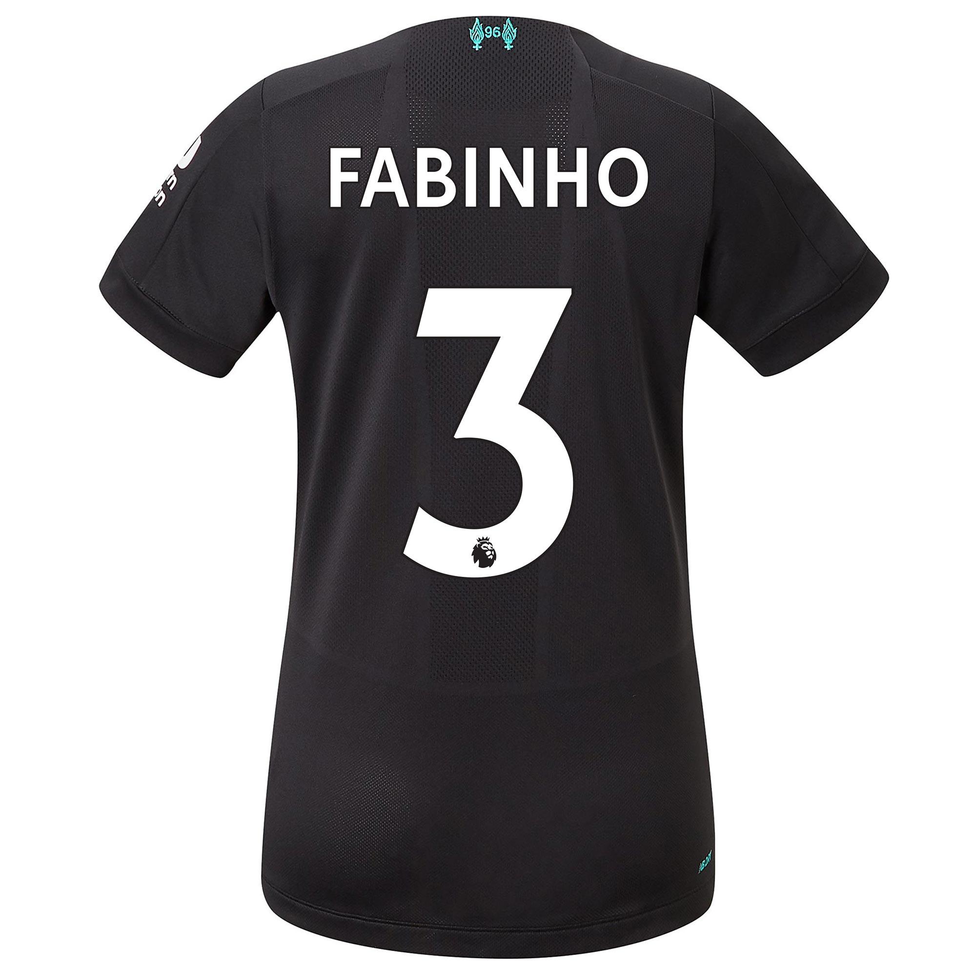 Liverpool Third Shirt 2019-20 - Womens with Fabinho 3 printing