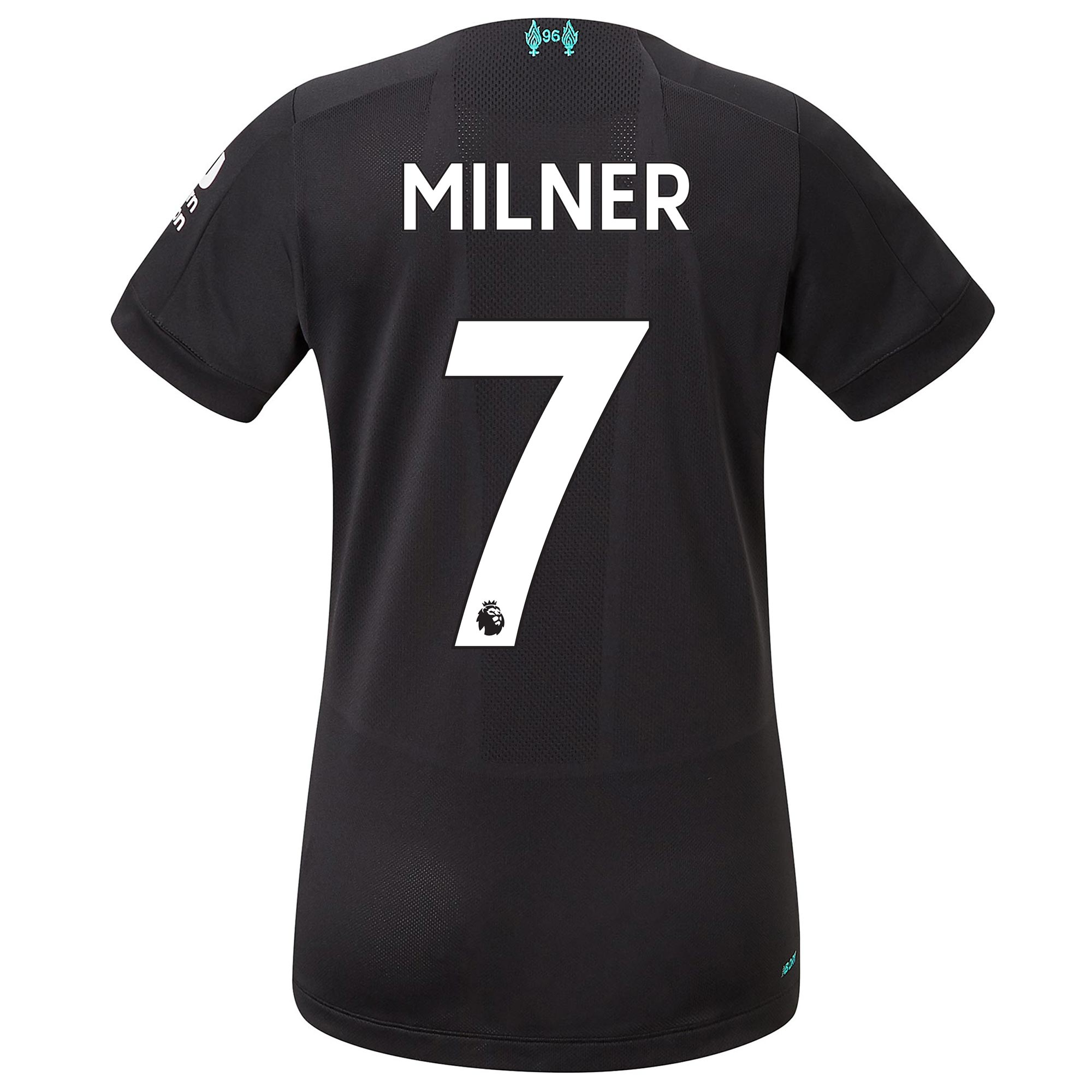 Liverpool Third Shirt 2019-20 - Womens with Milner 7 printing