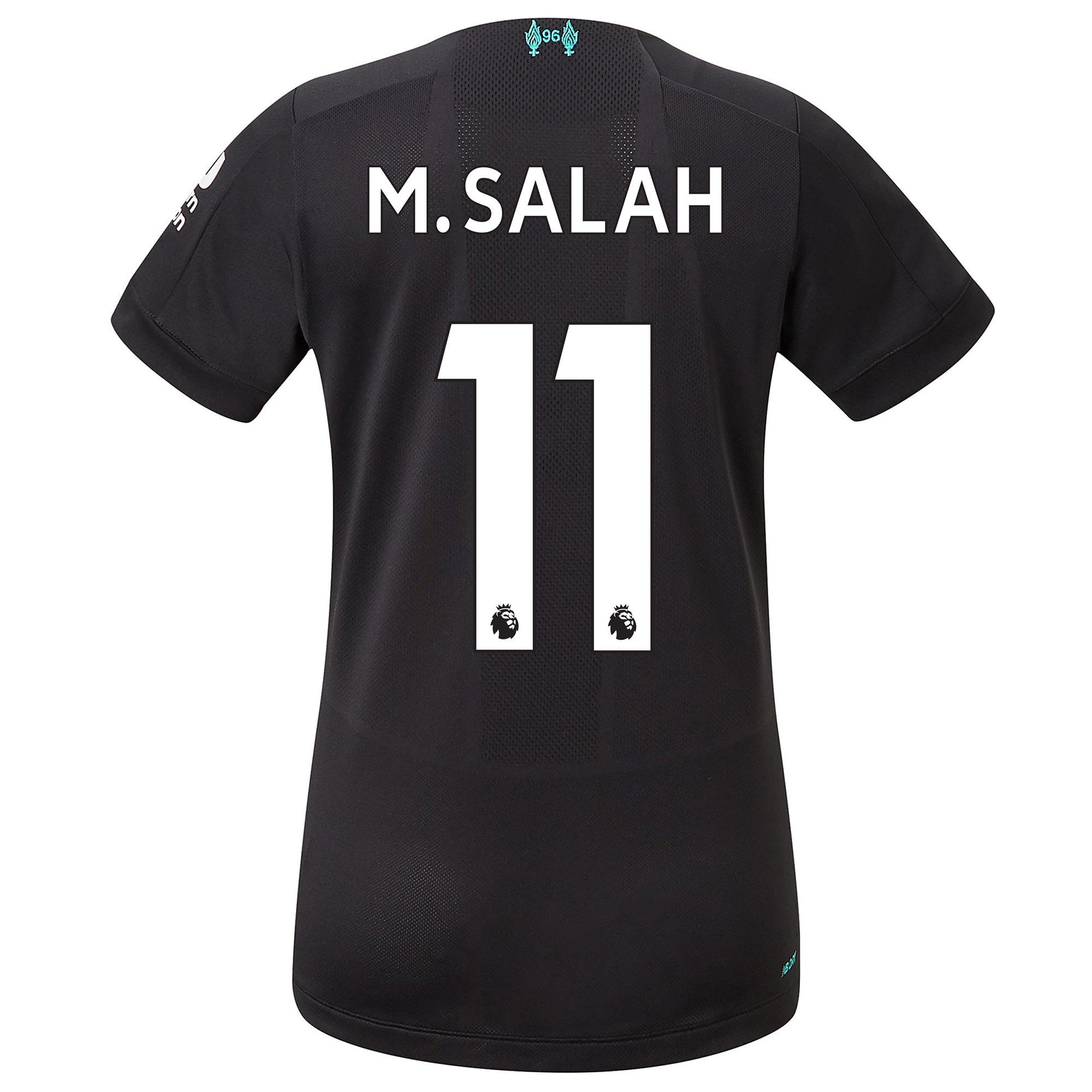 Liverpool Third Shirt 2019-20 - Womens with M.Salah 11 printing