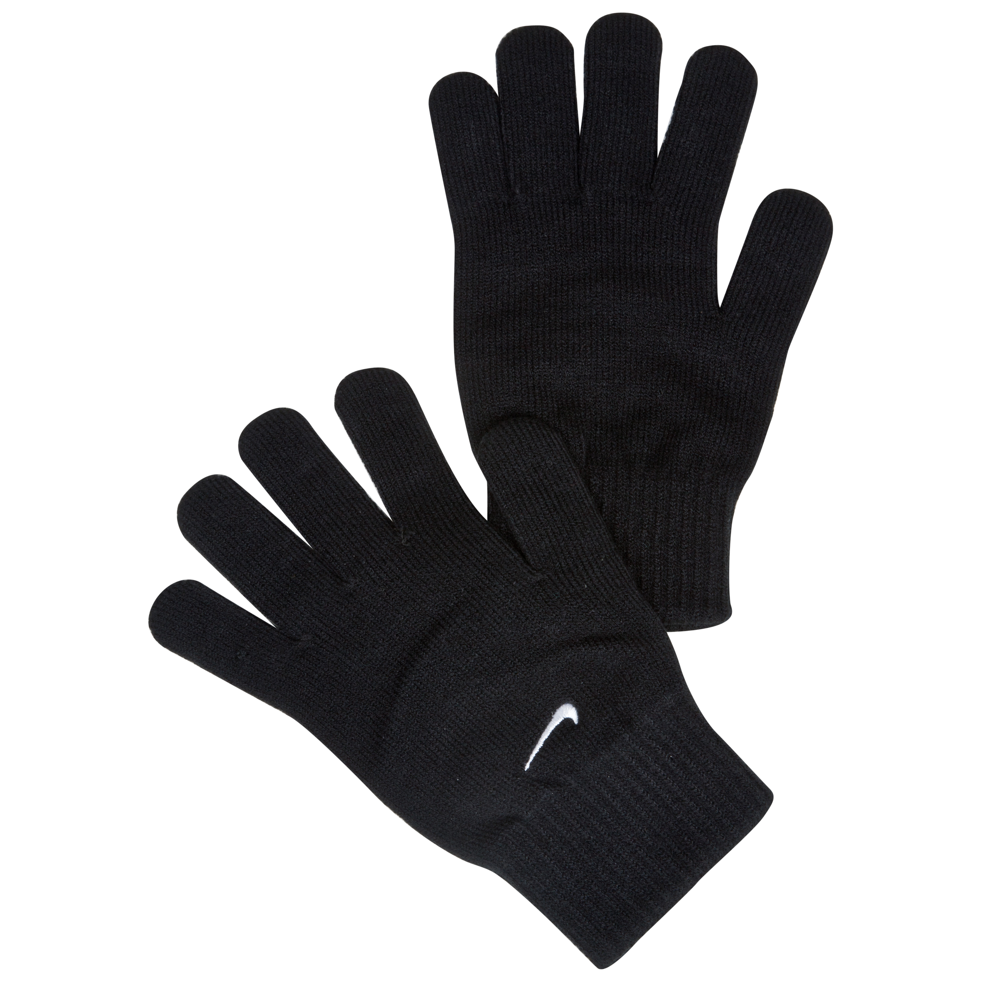 Nike Knitted Gloves - Black/White