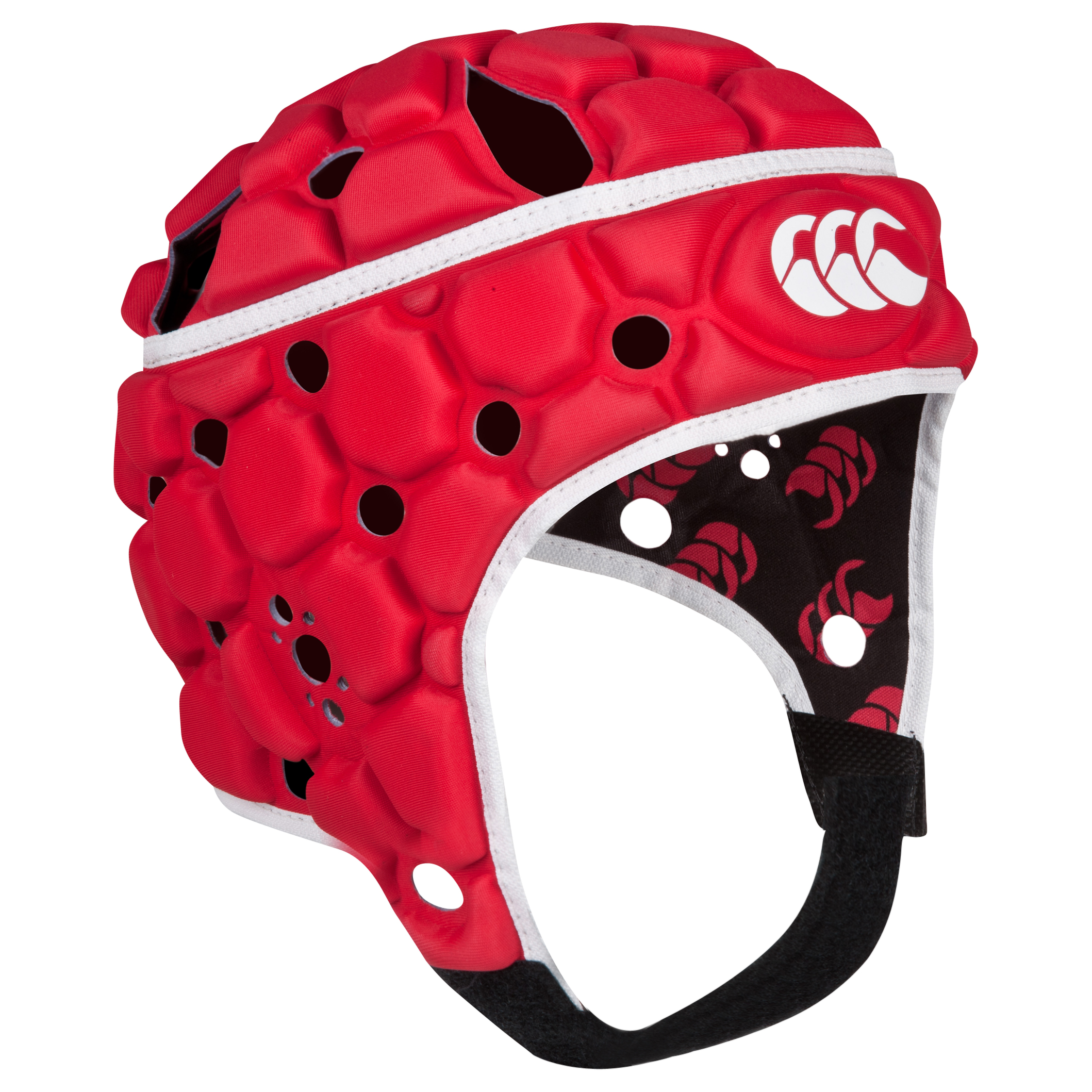 Canterbury Ventilator Headguard - Flag Red - Kids