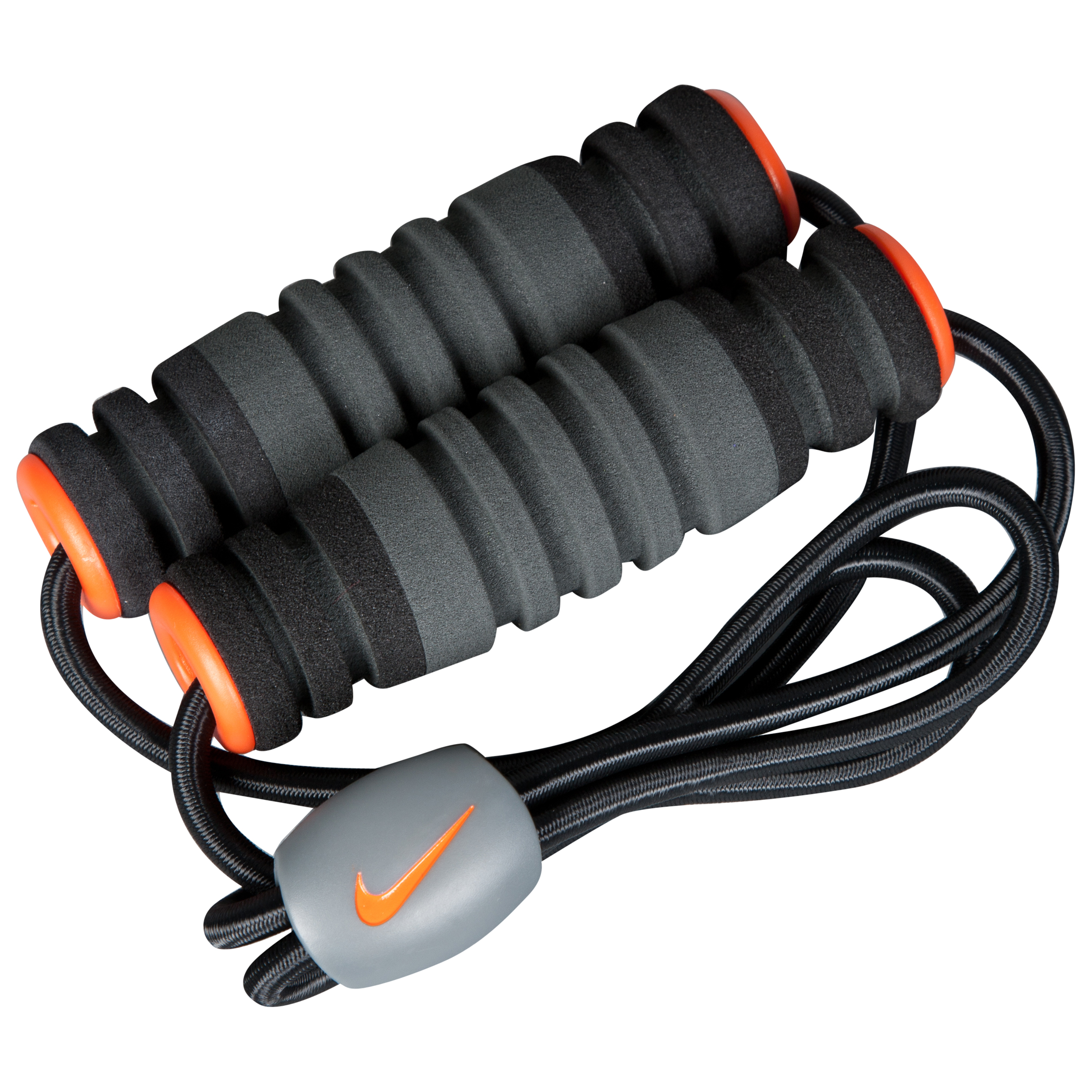 Nike Figure-8 Medium Resistance Band - Black/Orange/Anthracite