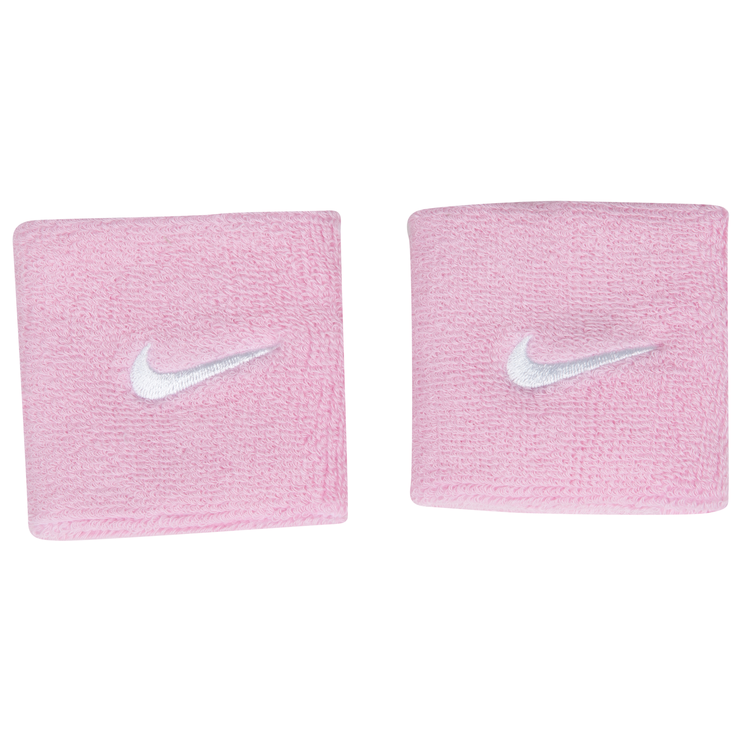 Nike Swoosh Wristbands - Perfect Pink/White