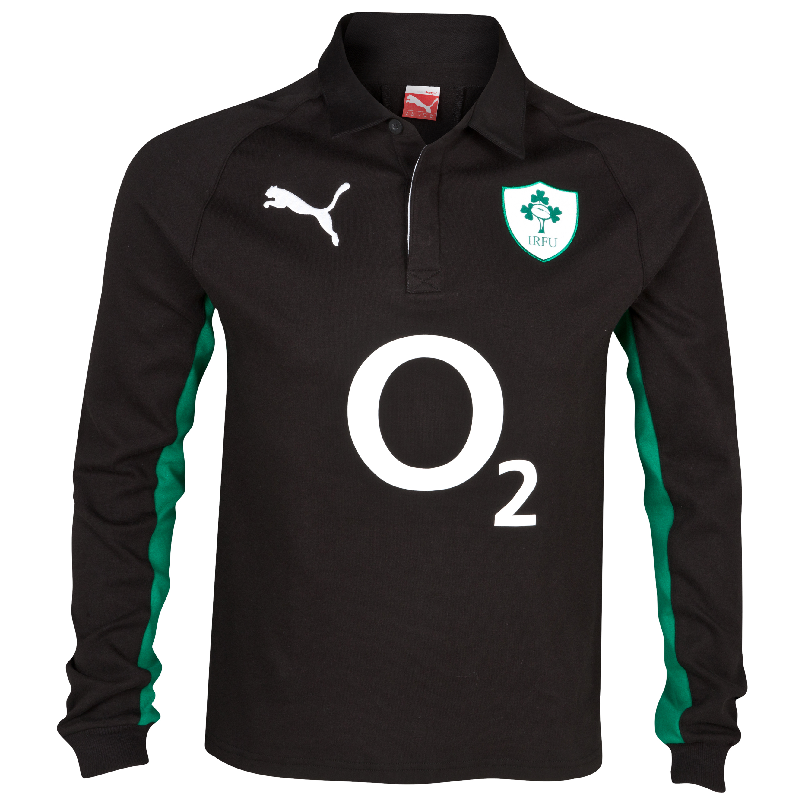Ireland Rugby Alternative Shirt 2012/13 - Long Sleeve