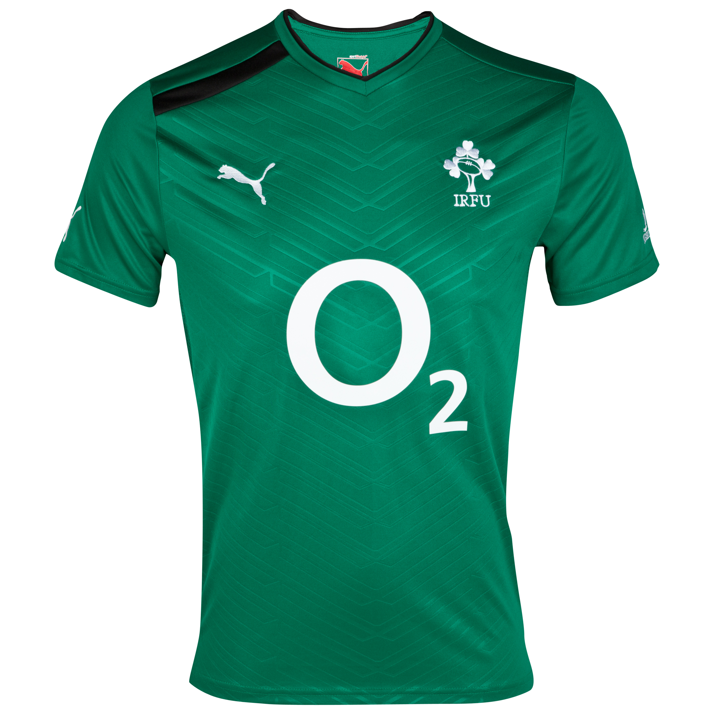 Ireland Rugby Workout T-Shirt - Green/Black