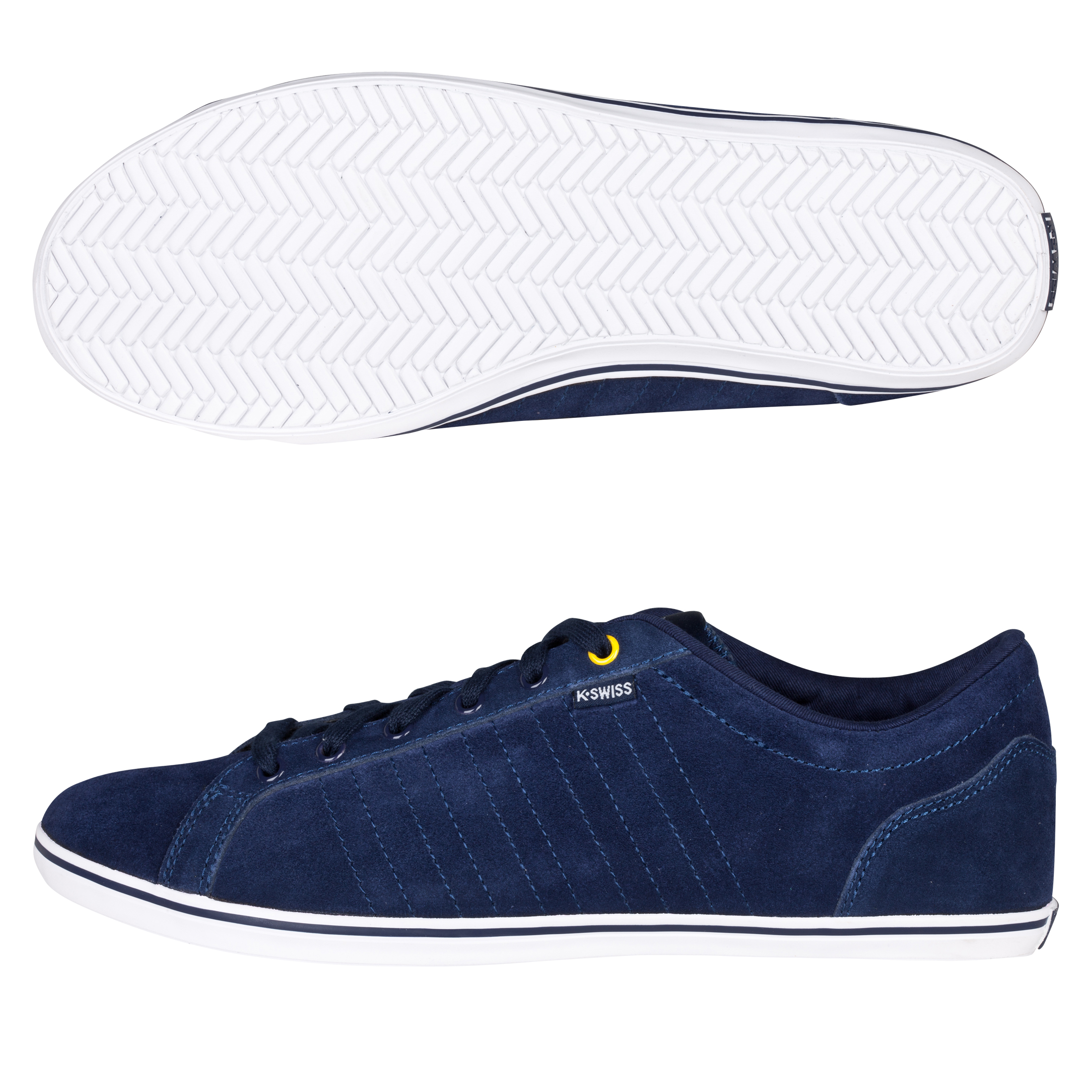 K-Swiss Hof III SDE VNZ Trainers - Navy/White/Flash Yellow