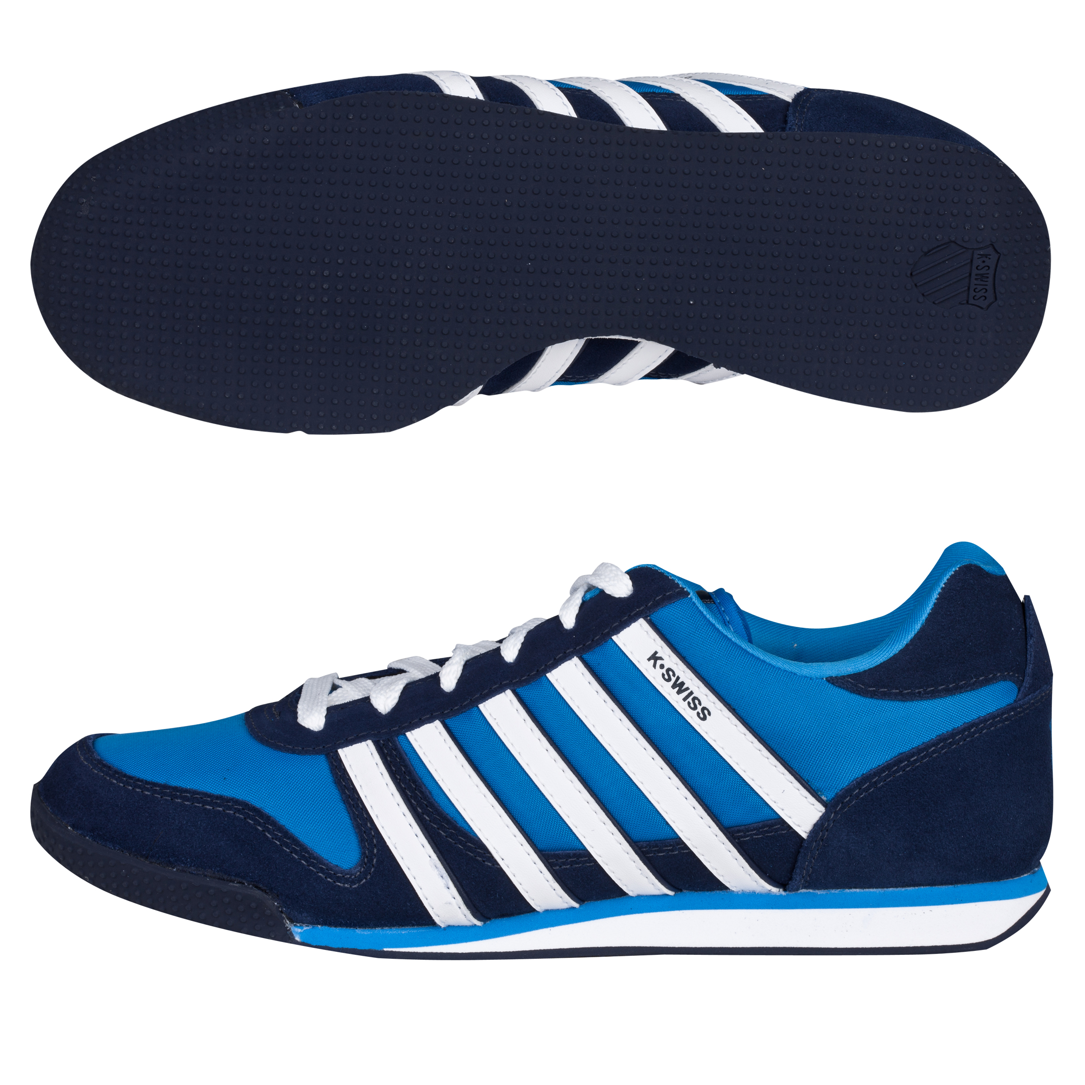 K-Swiss Whitburn SP Trainers - Brilliant Blue/Navy