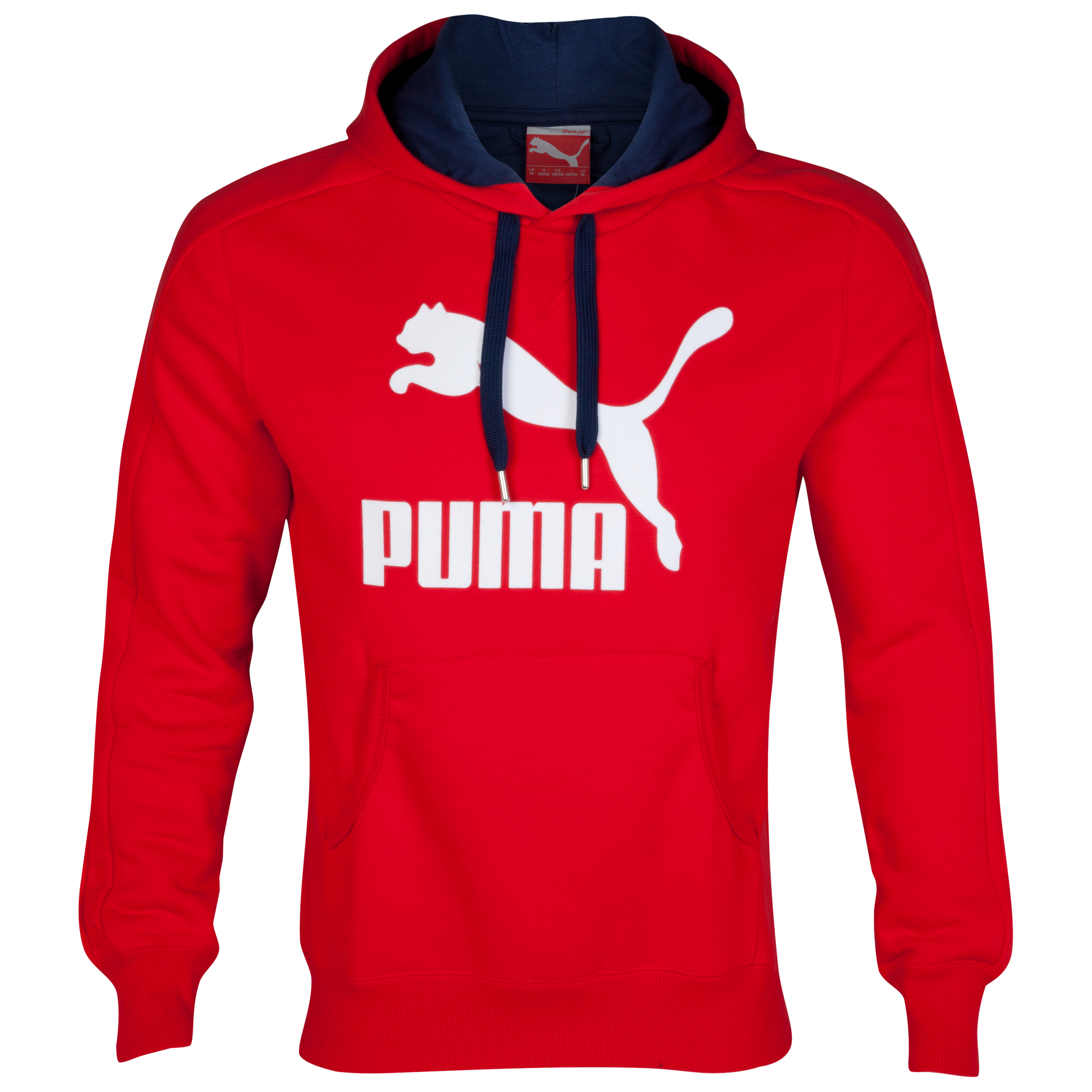 Puma Logo Hoody - Ribbon Red