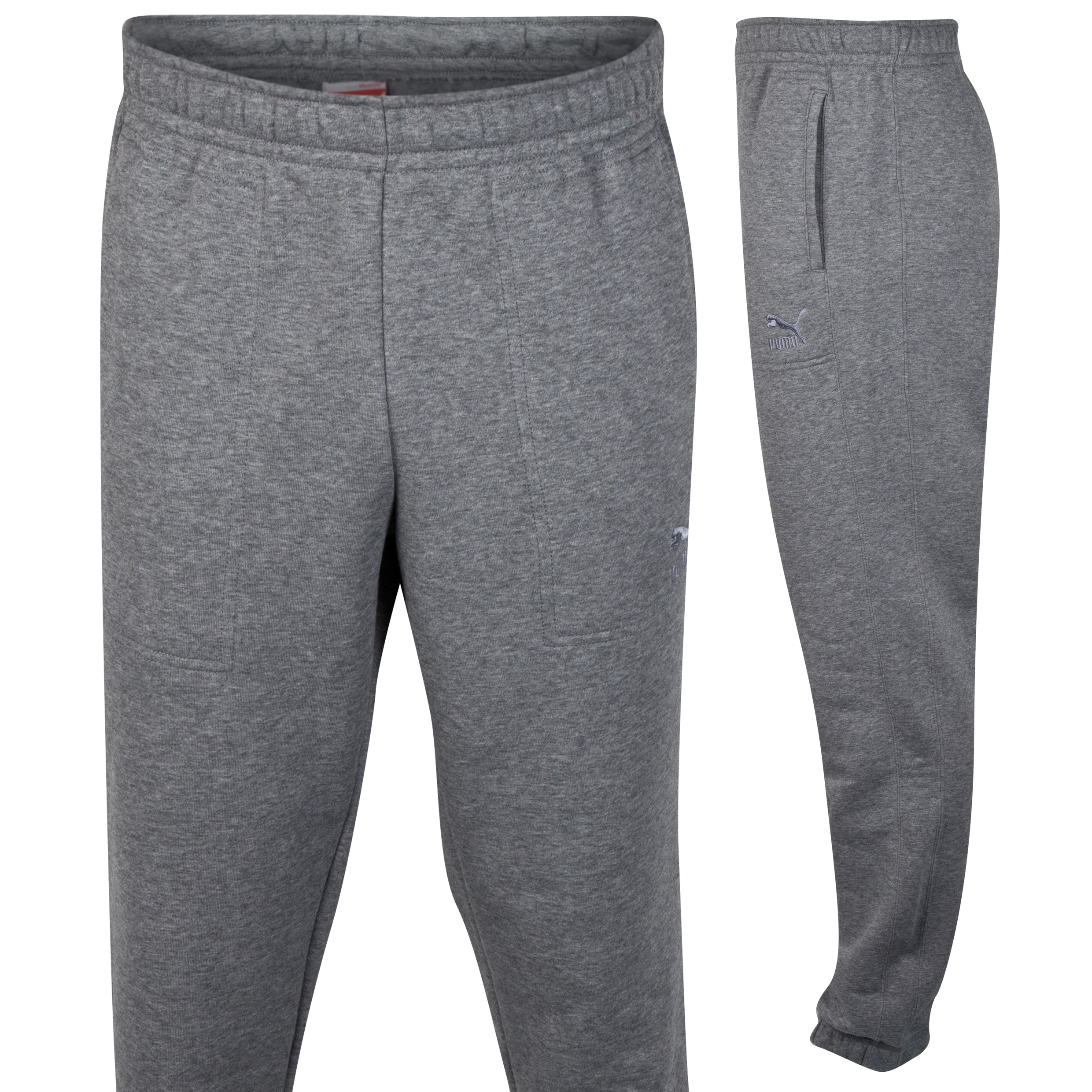 Puma Sweat Pants - Medium Gray Heather