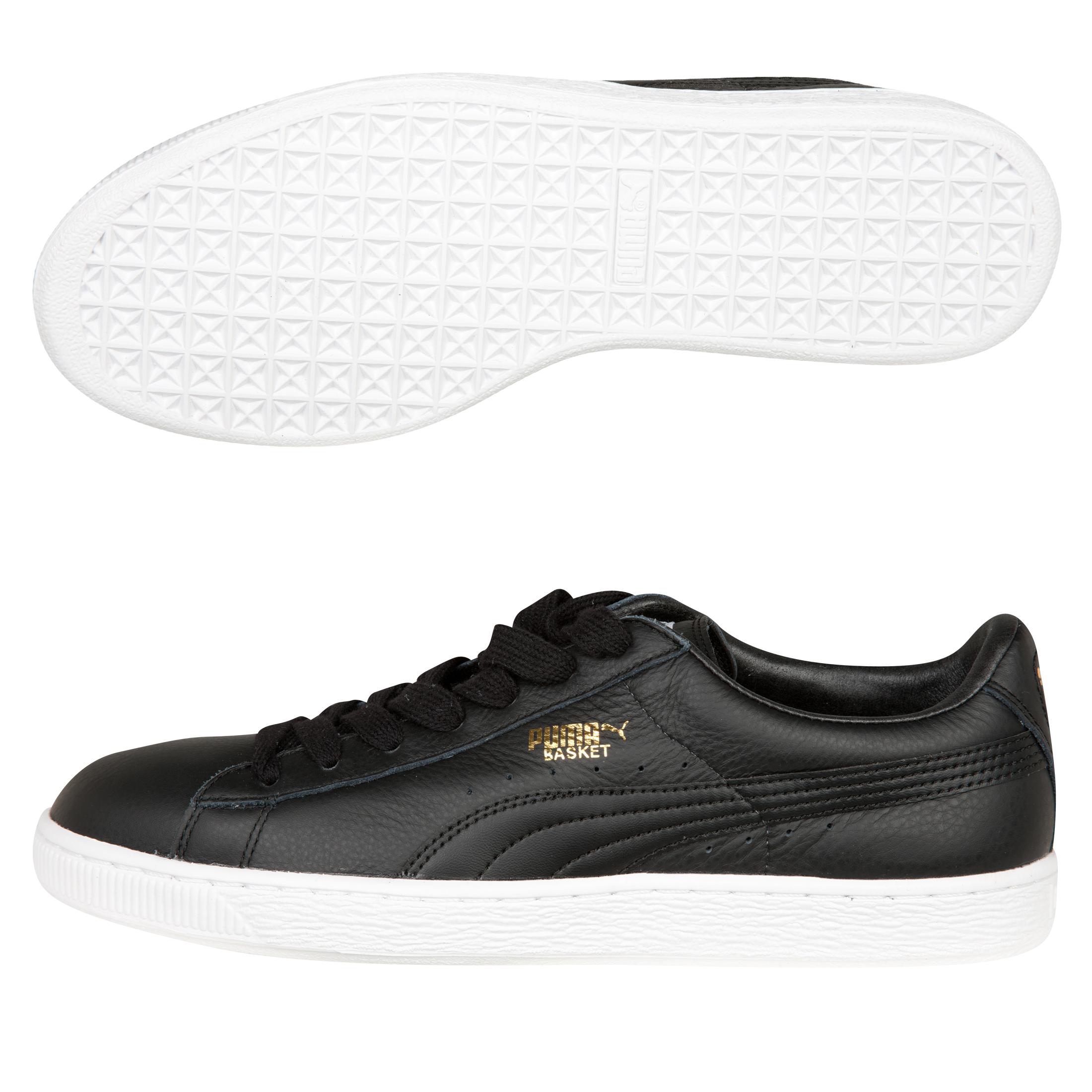 Puma Basket Classic Trainer - Black/White
