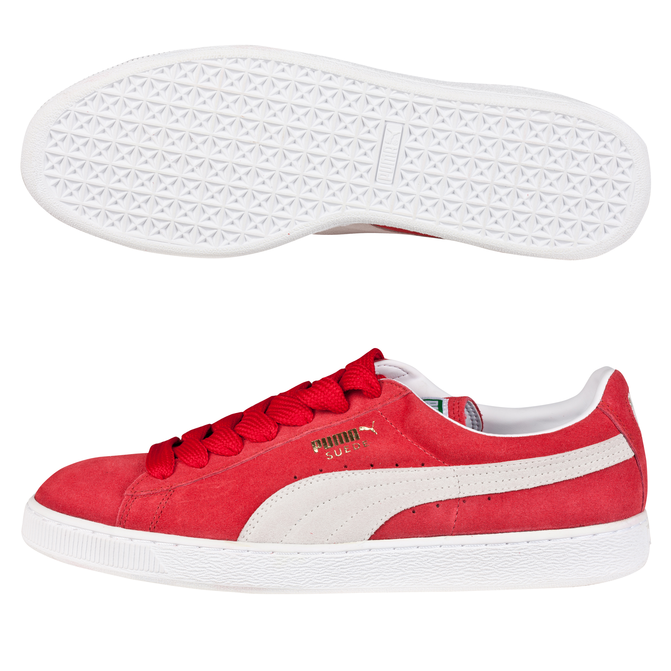 Puma Suede Classic Eco Trainer - Team Regal Red/White
